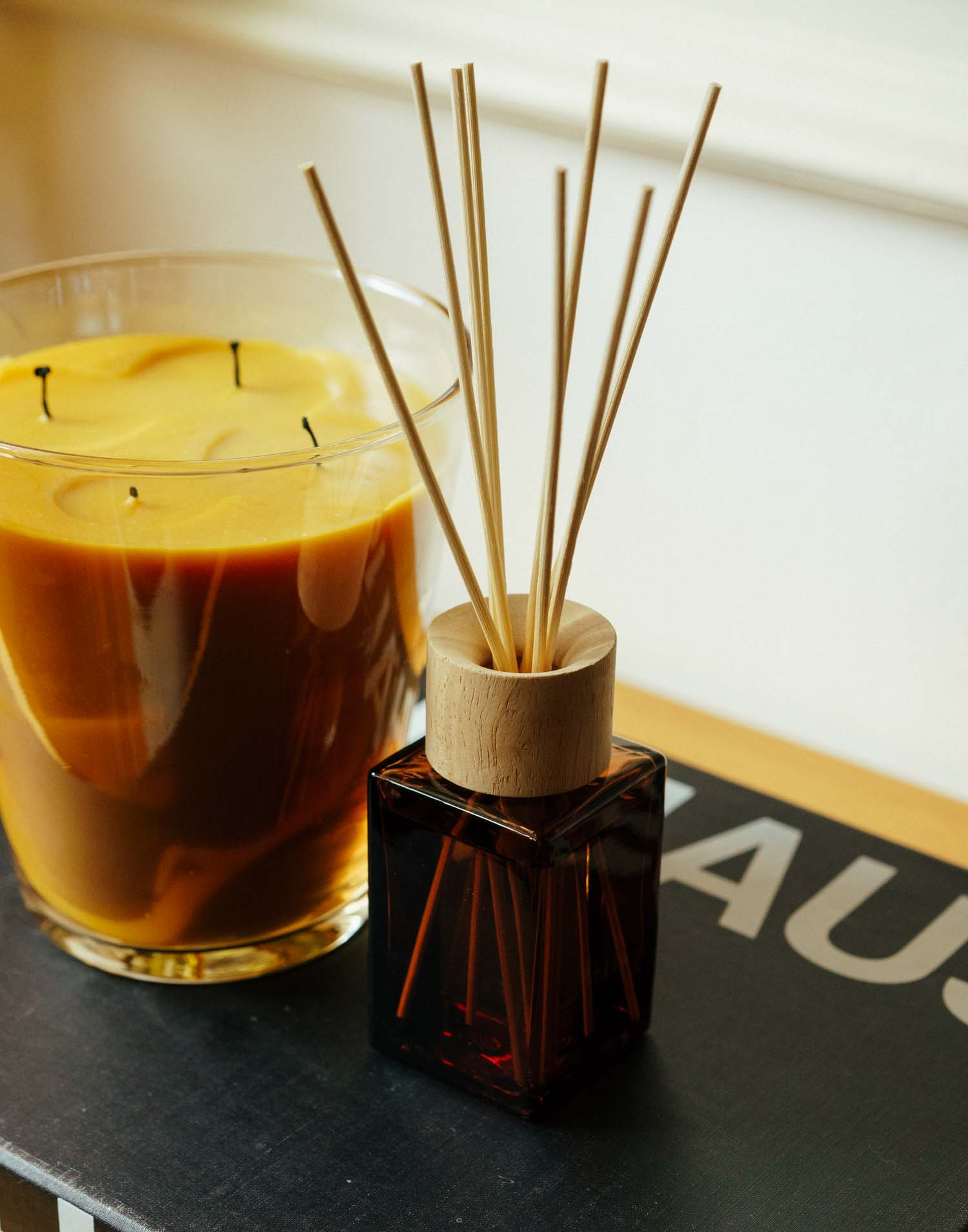 Musk amber reed diffuser 120ml