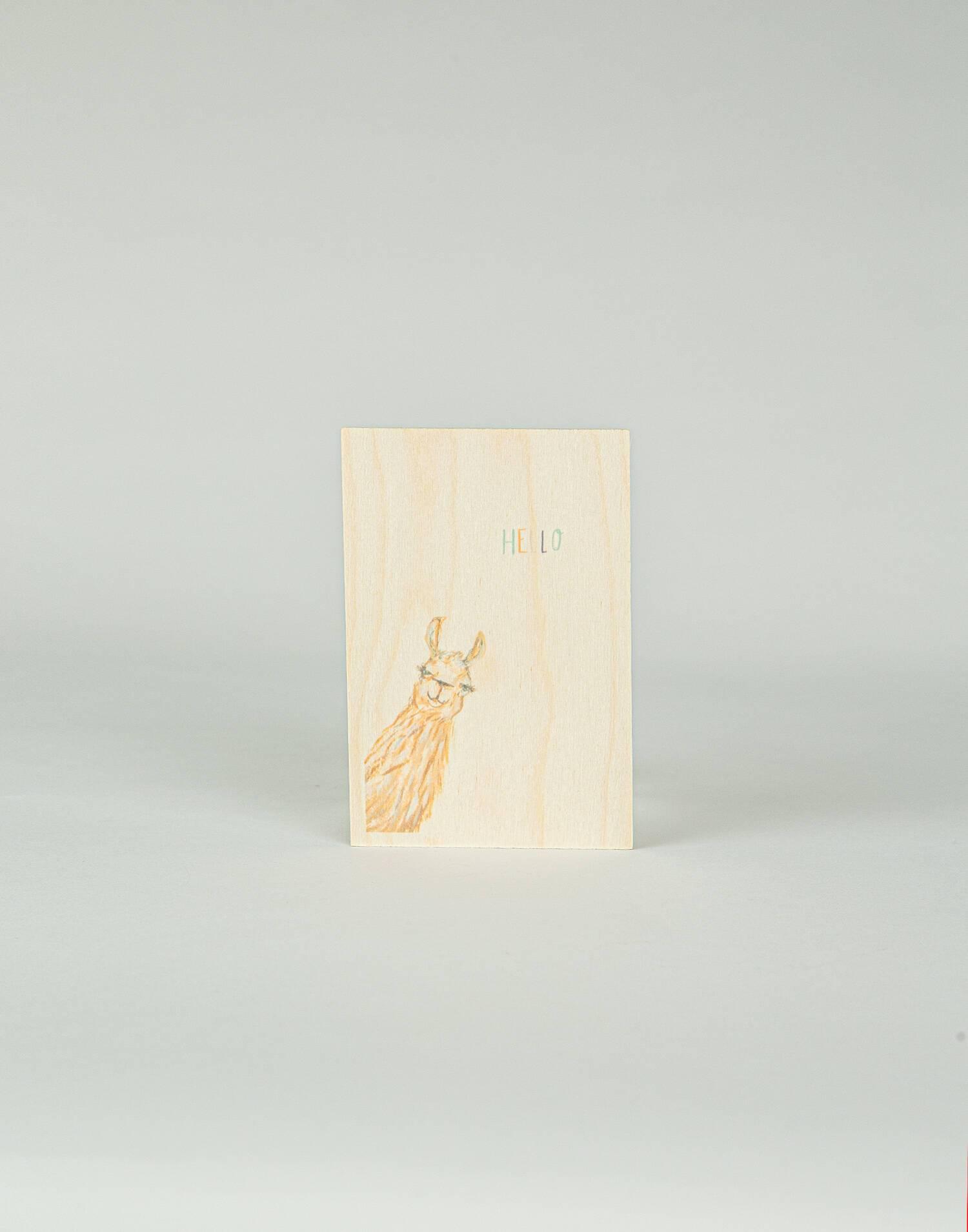 Postal madera