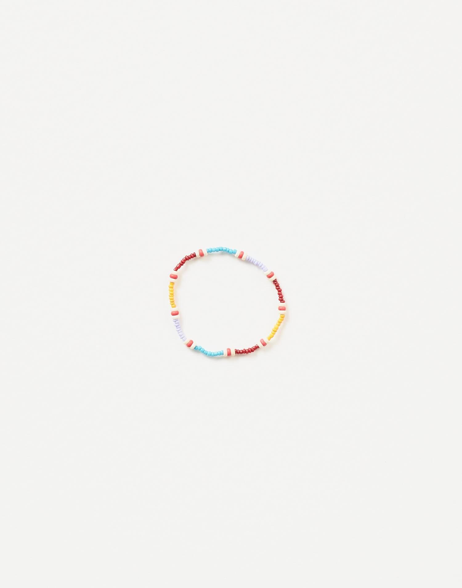 Elastic multicolor bracelet