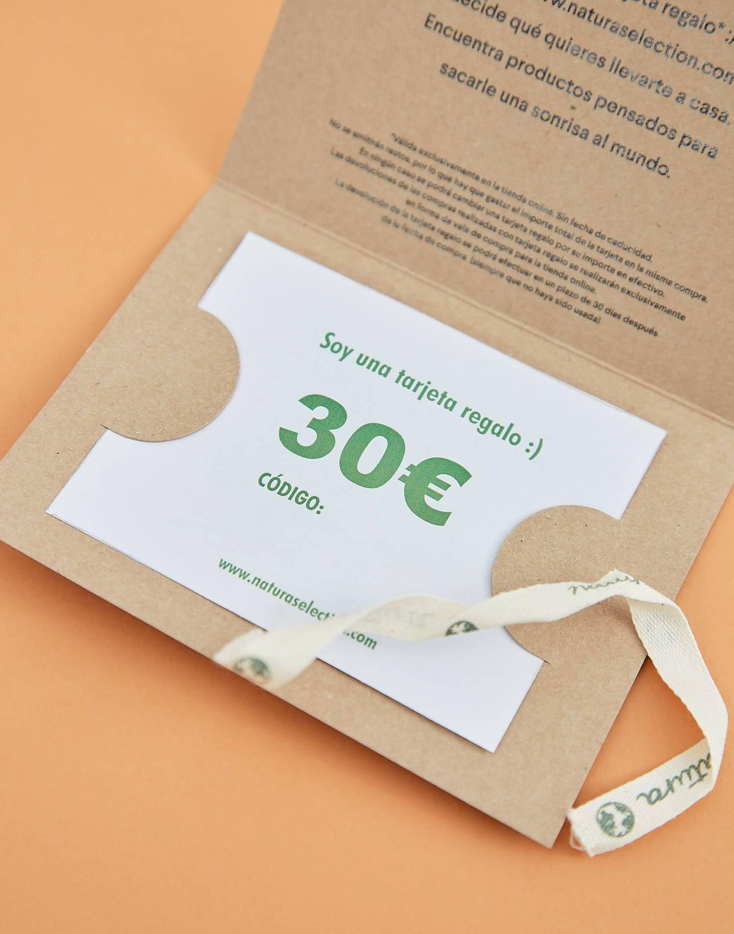 Gift card 30 €