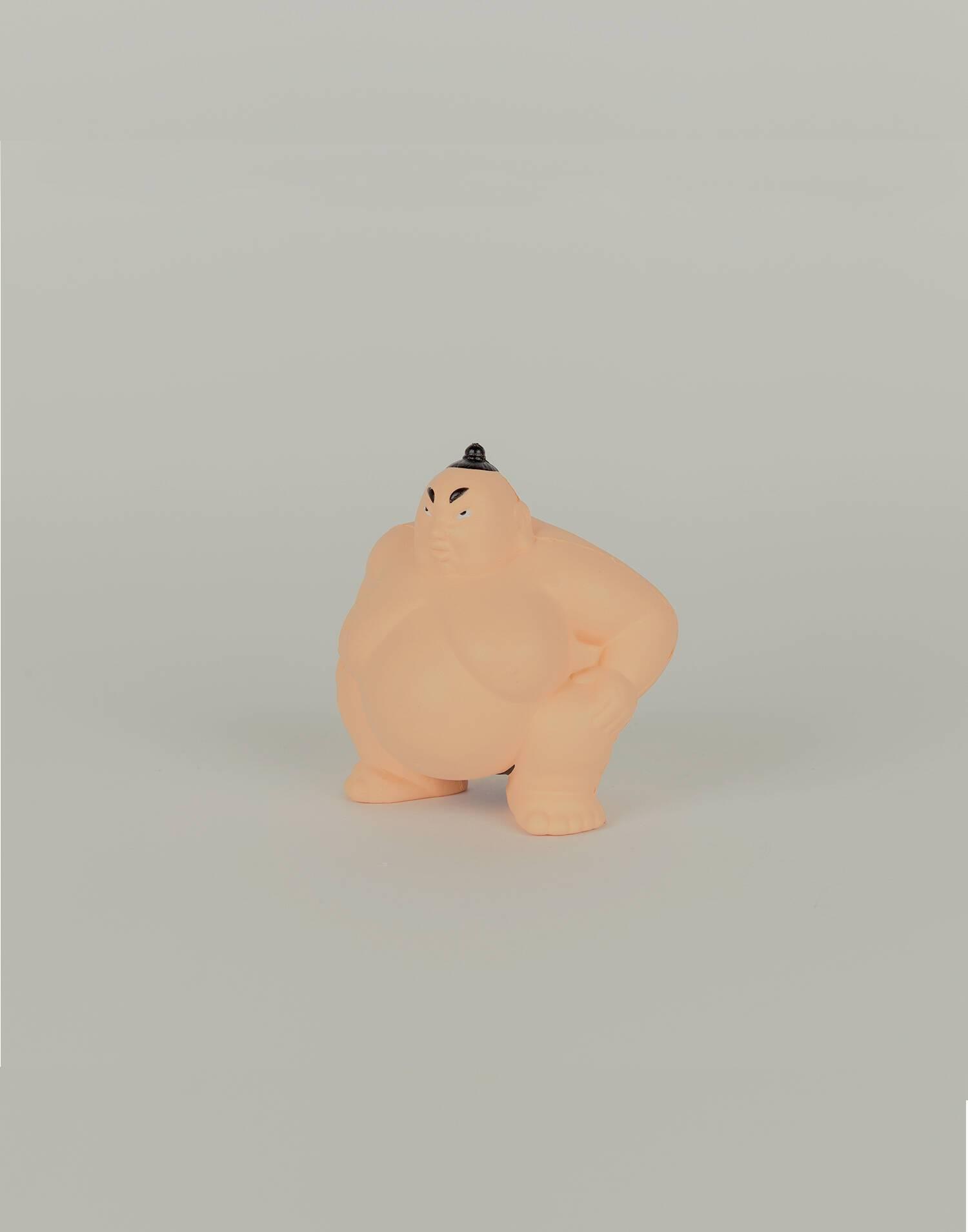Sumo wrestler stress doll