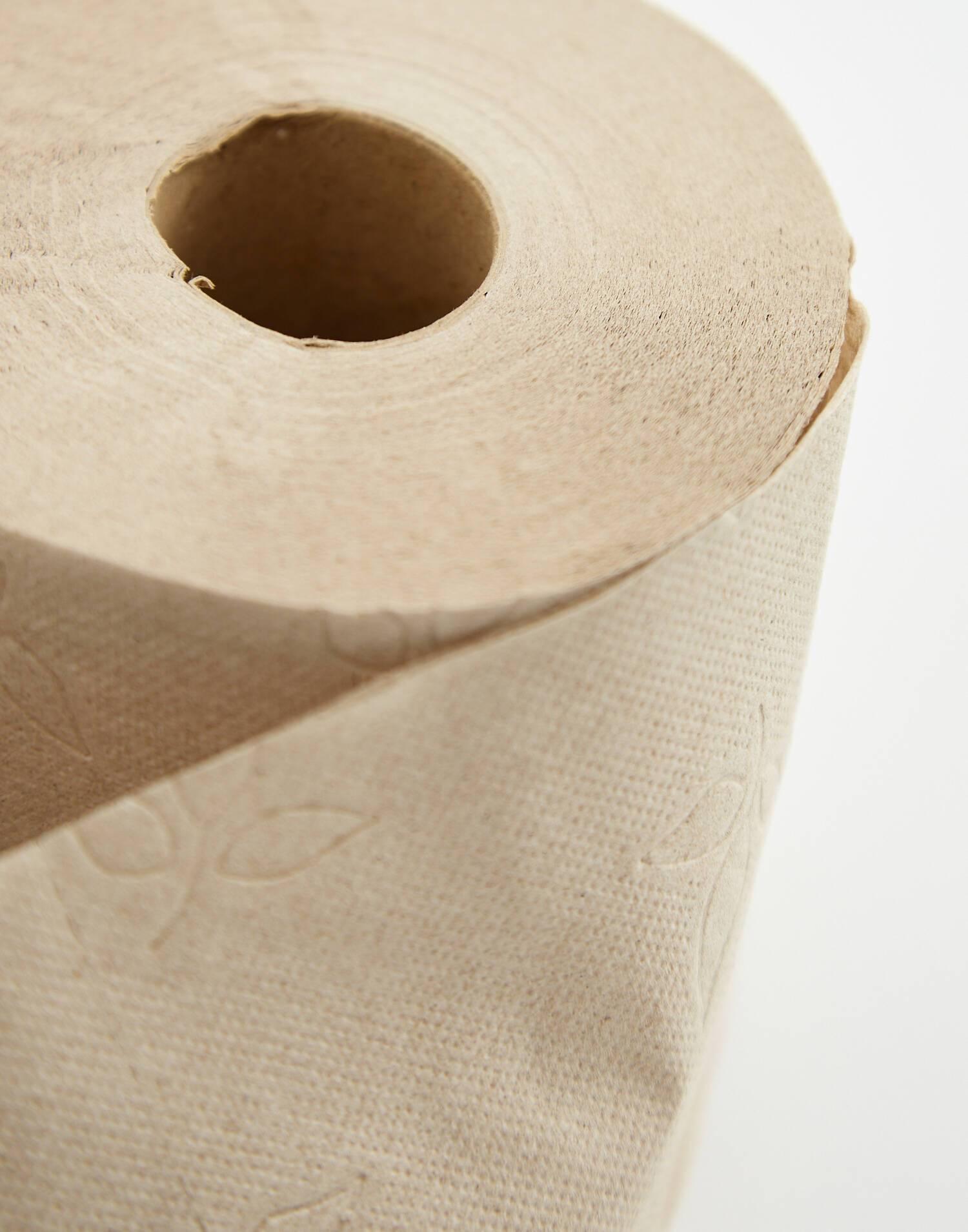 Papel higiénico eco-reciclado 6 rollos