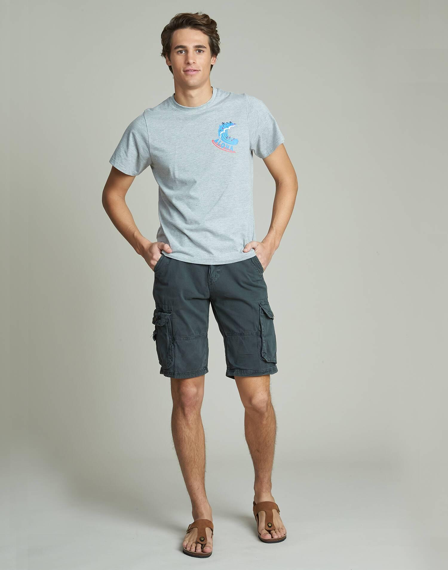 Bermuda uomo con tasche