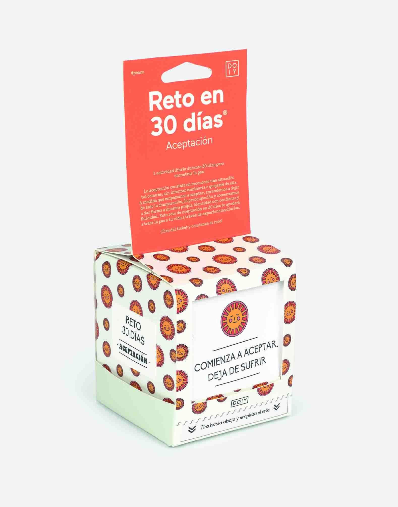 30 day challenge acceptance (spanish)