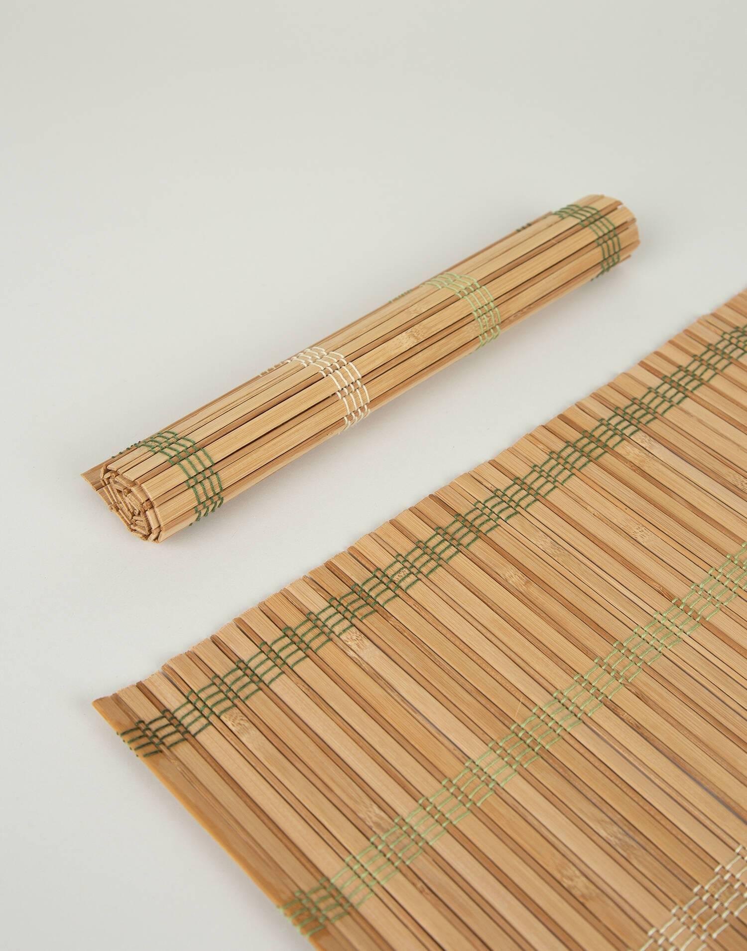 2-set bamboo placemats