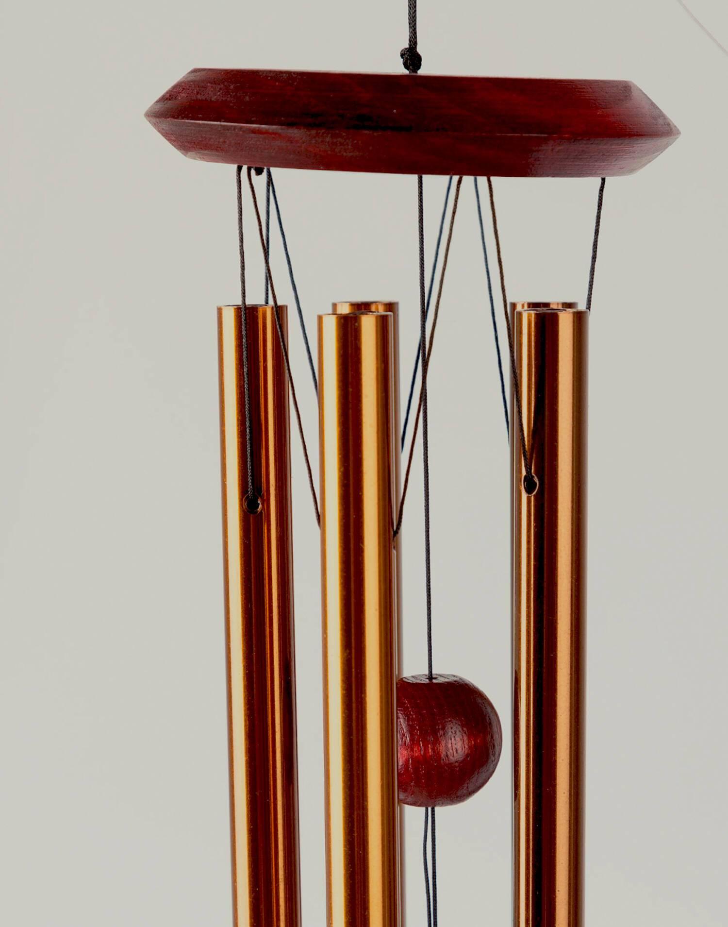 Campana viento mars bronce