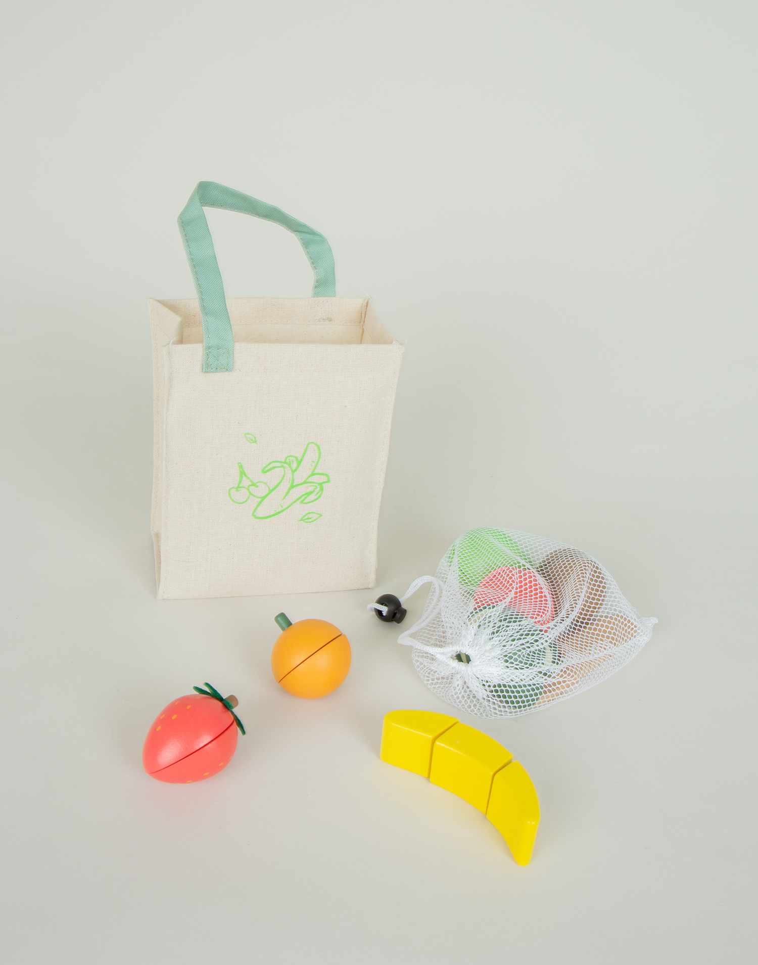 Toy fruits kit
