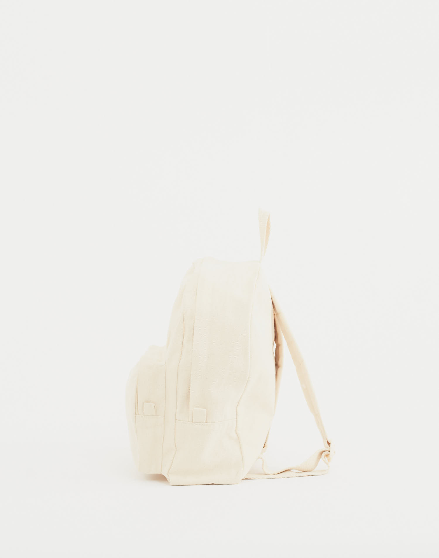 Organic cotton backpack