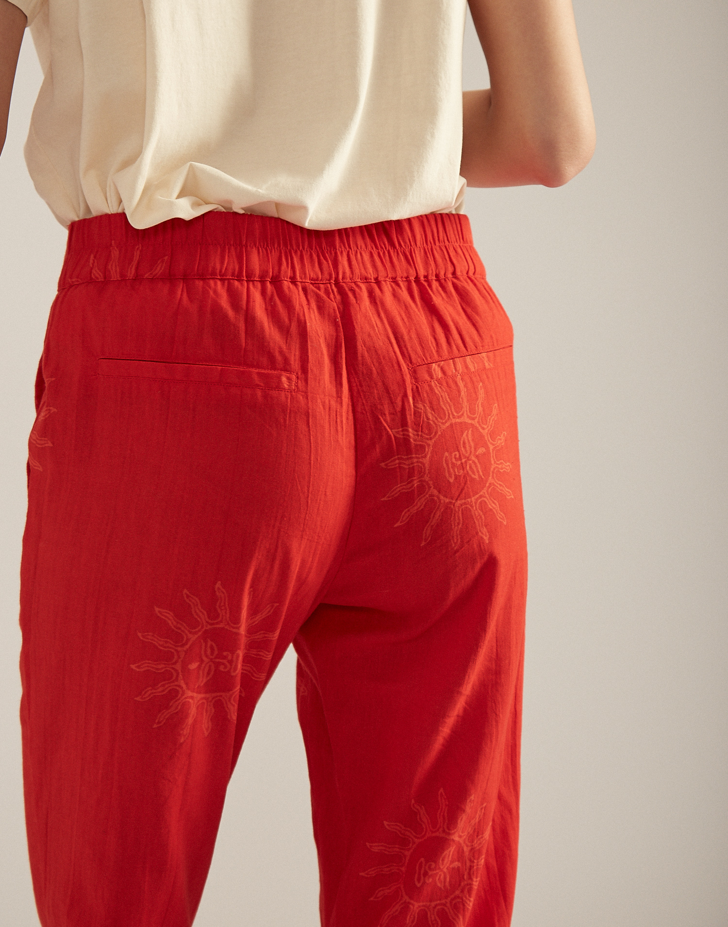 Pantalón print soles