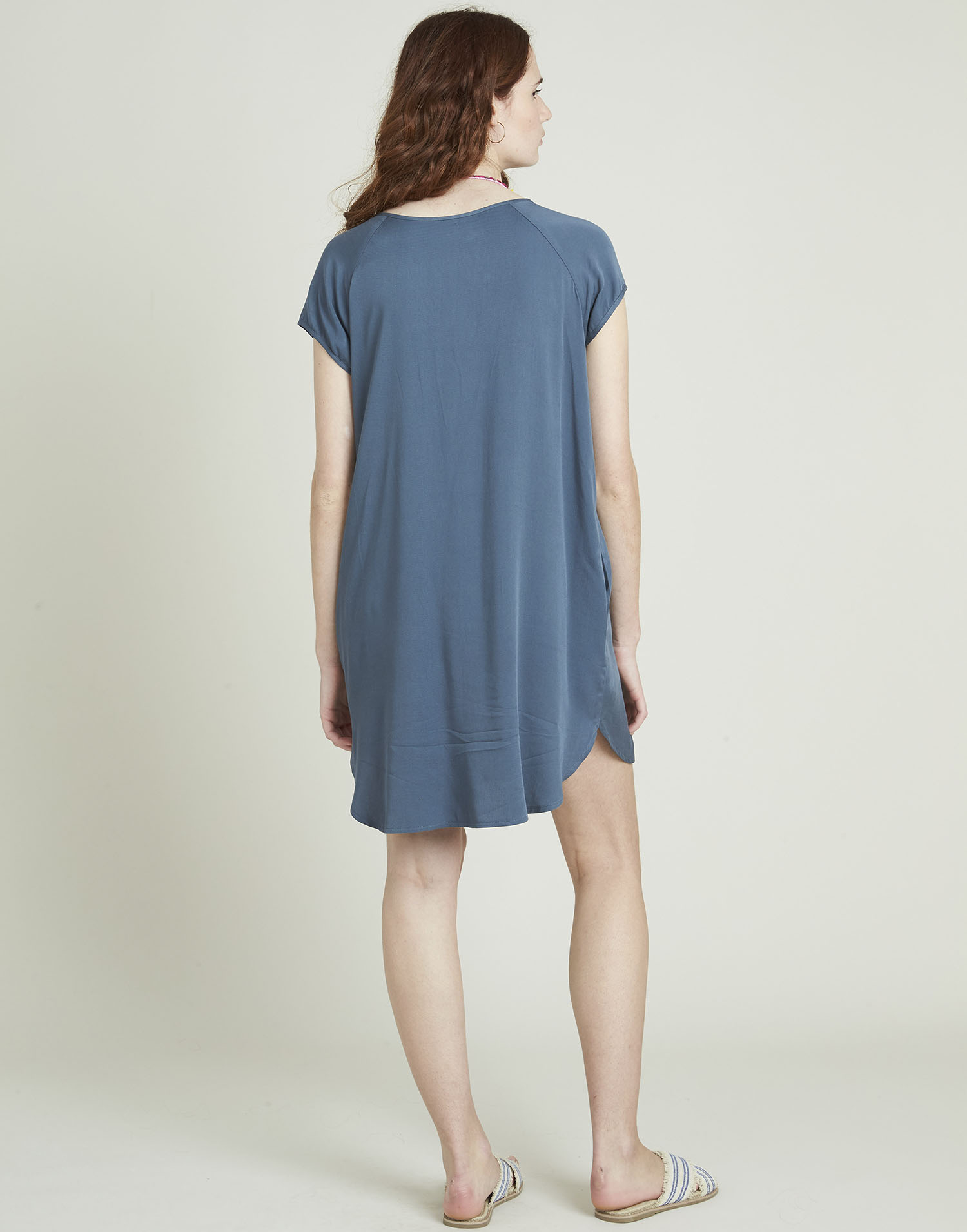 Viscose short dress