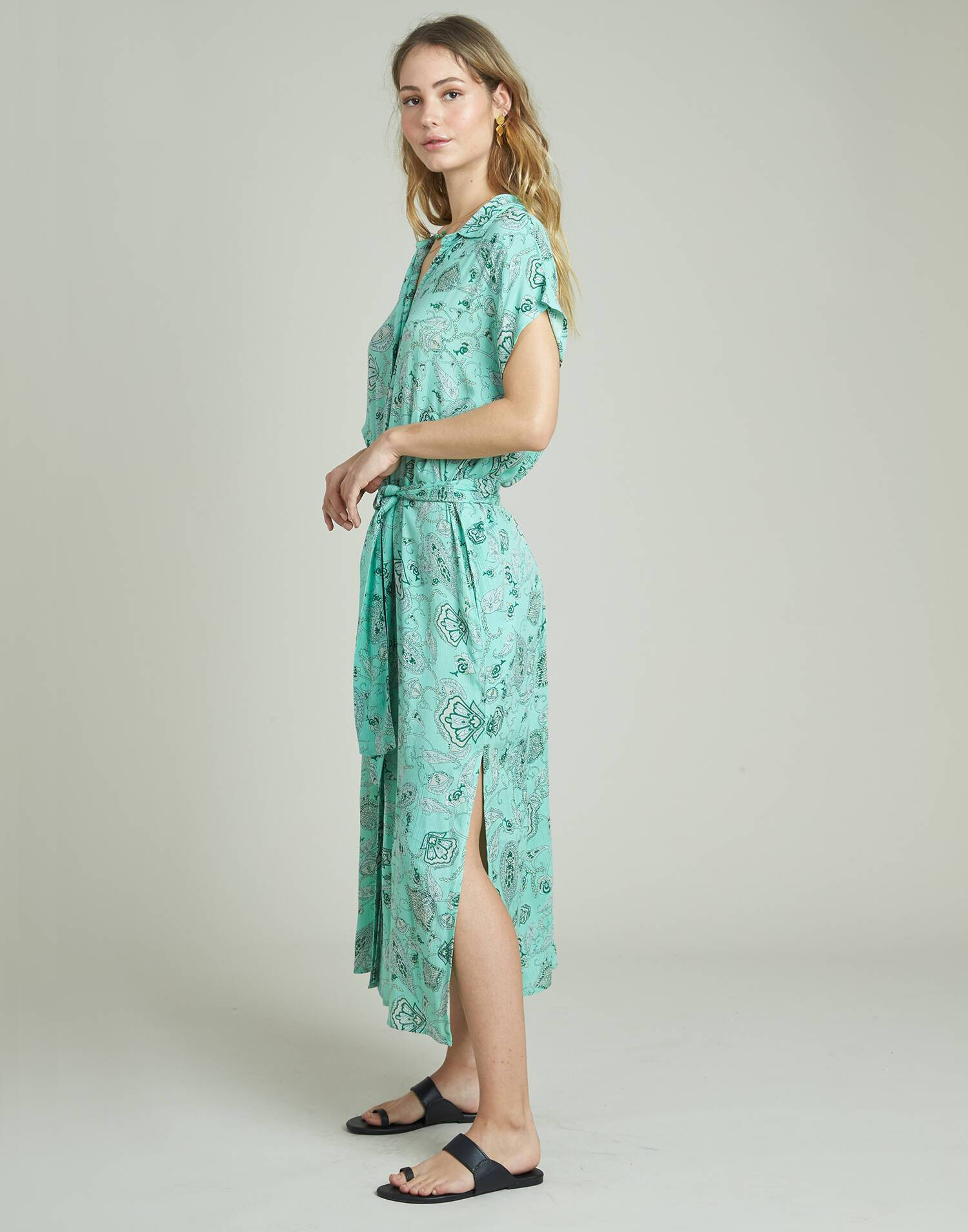 Long flowered dress
