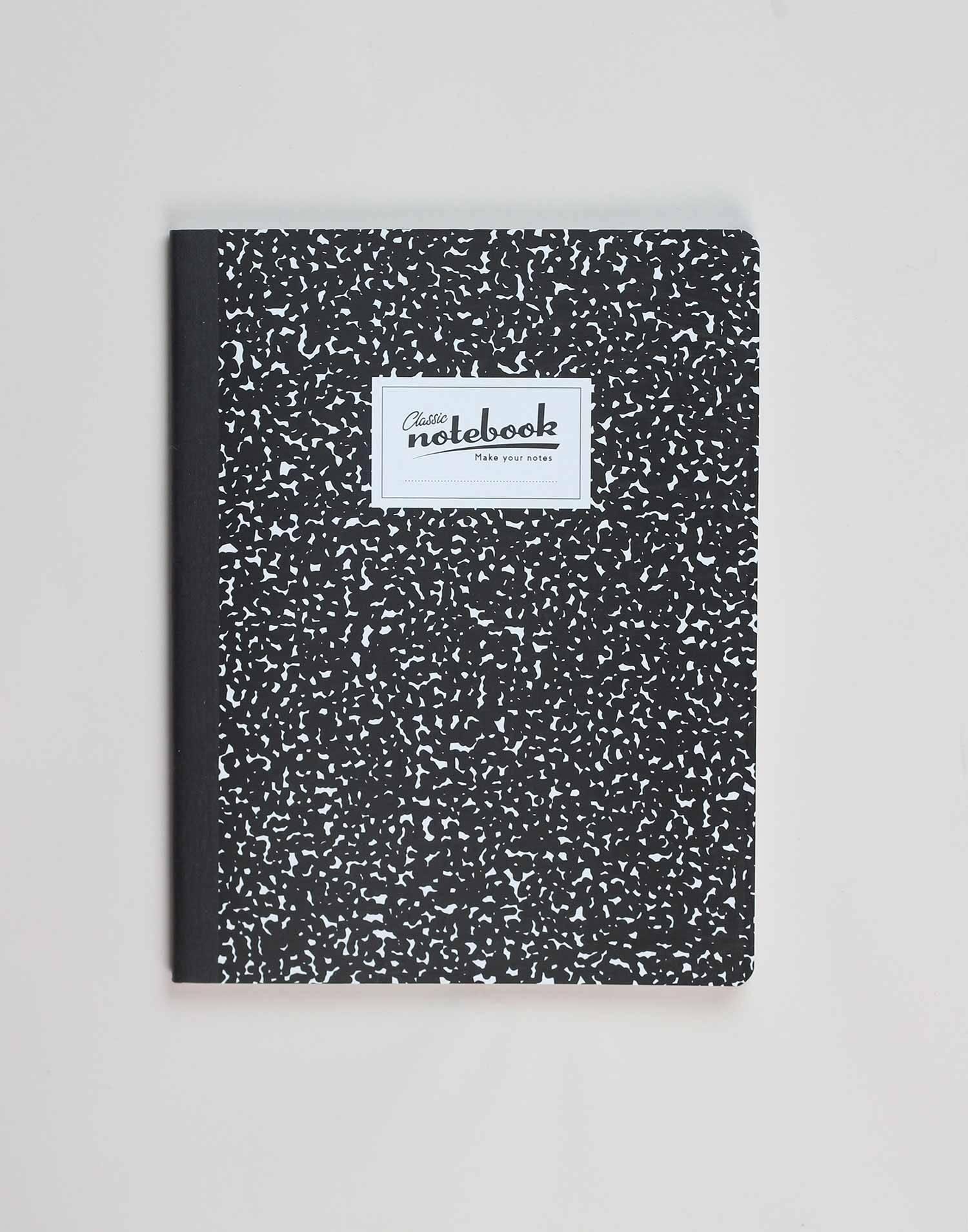 Retro study notebook