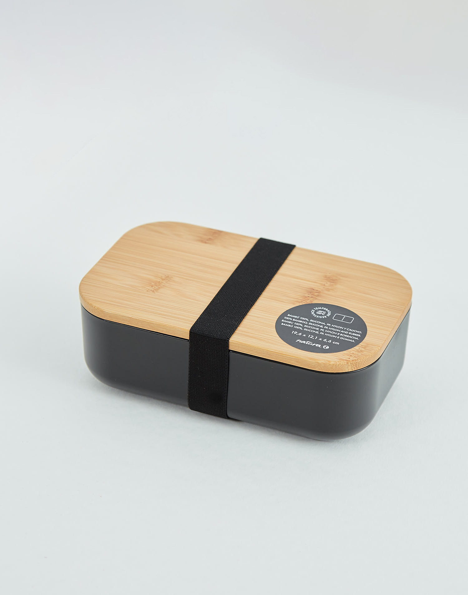 Tupper  with bamboo lid