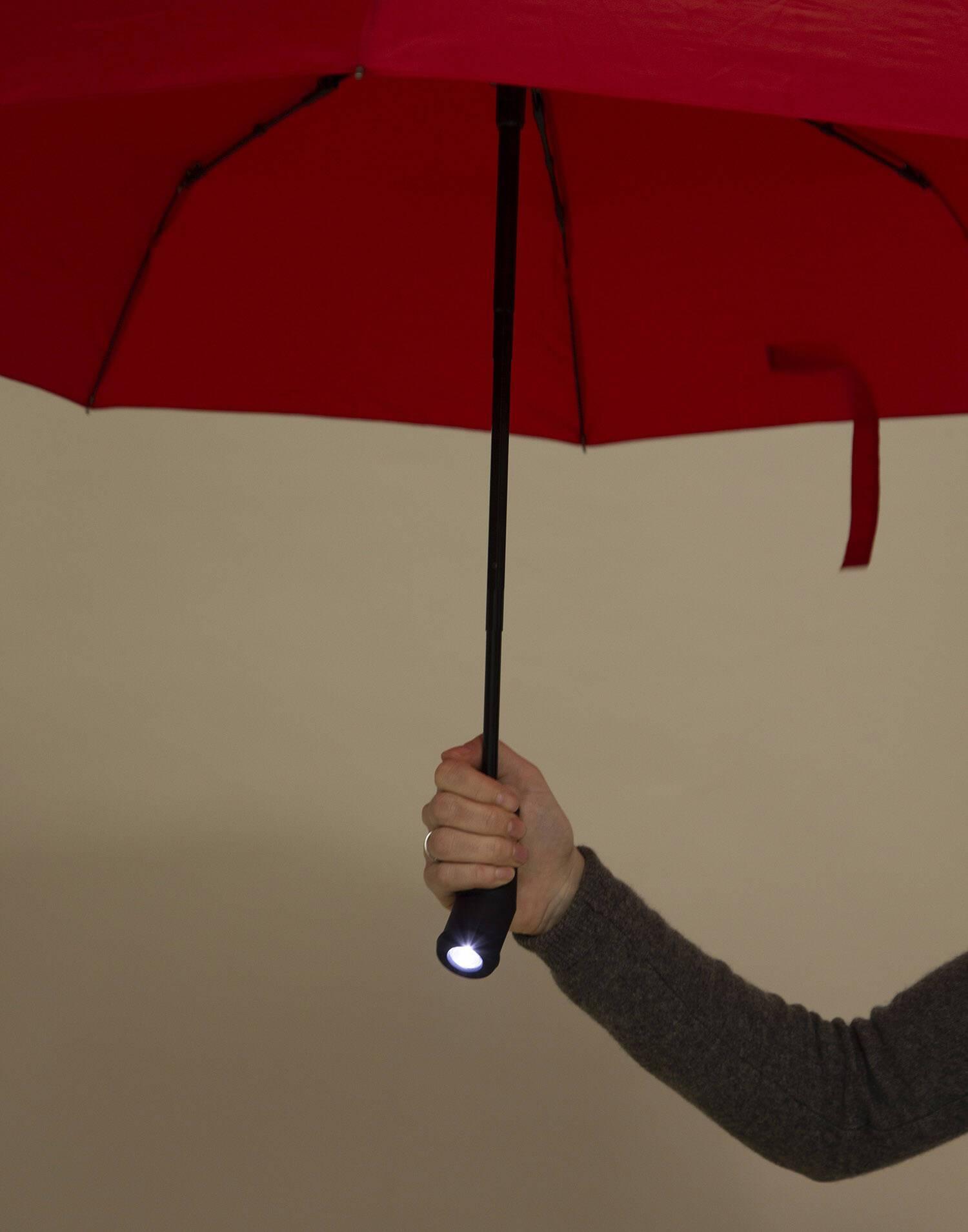 Paraguas plegable  con luz led