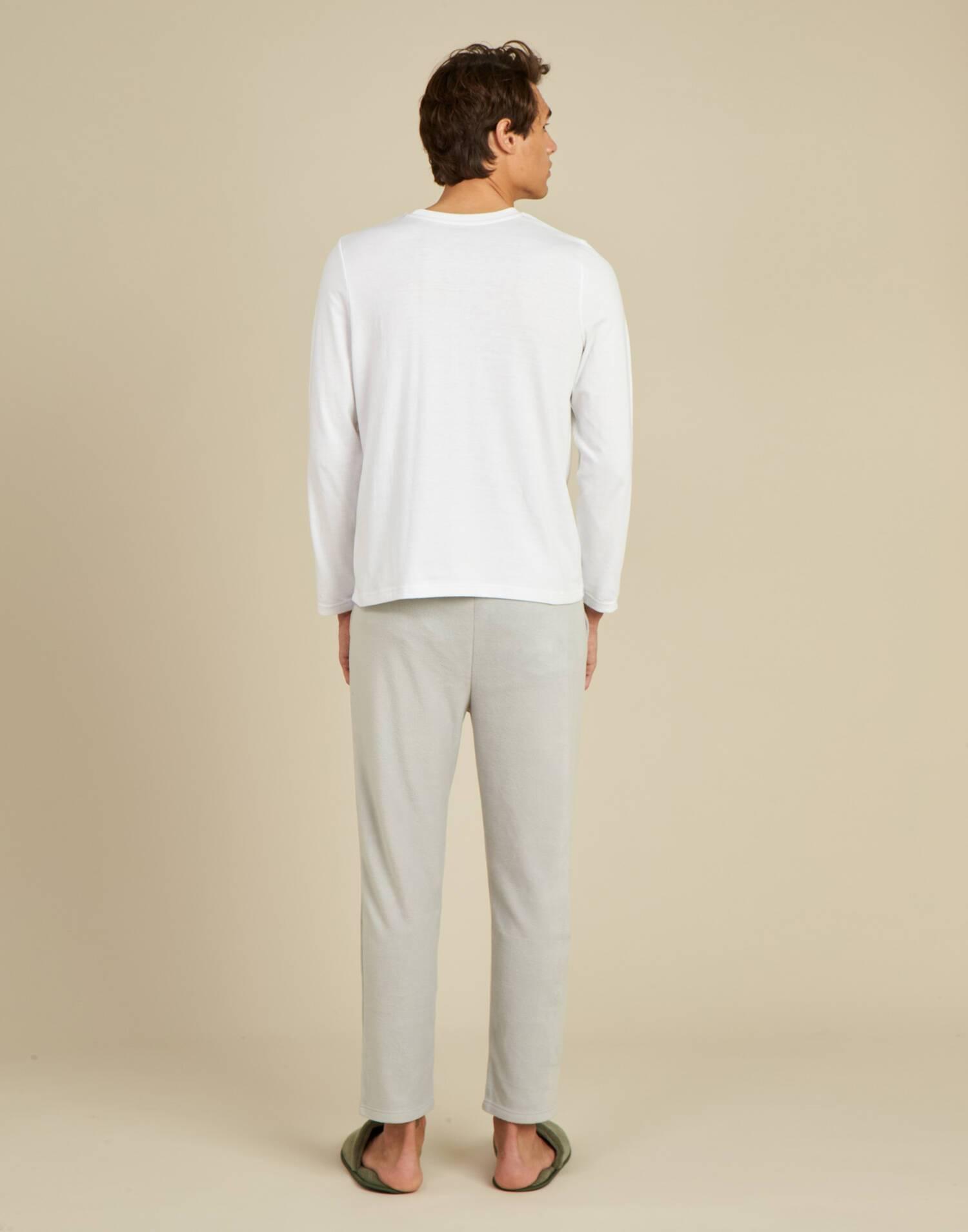 Set pijama polar hombre
