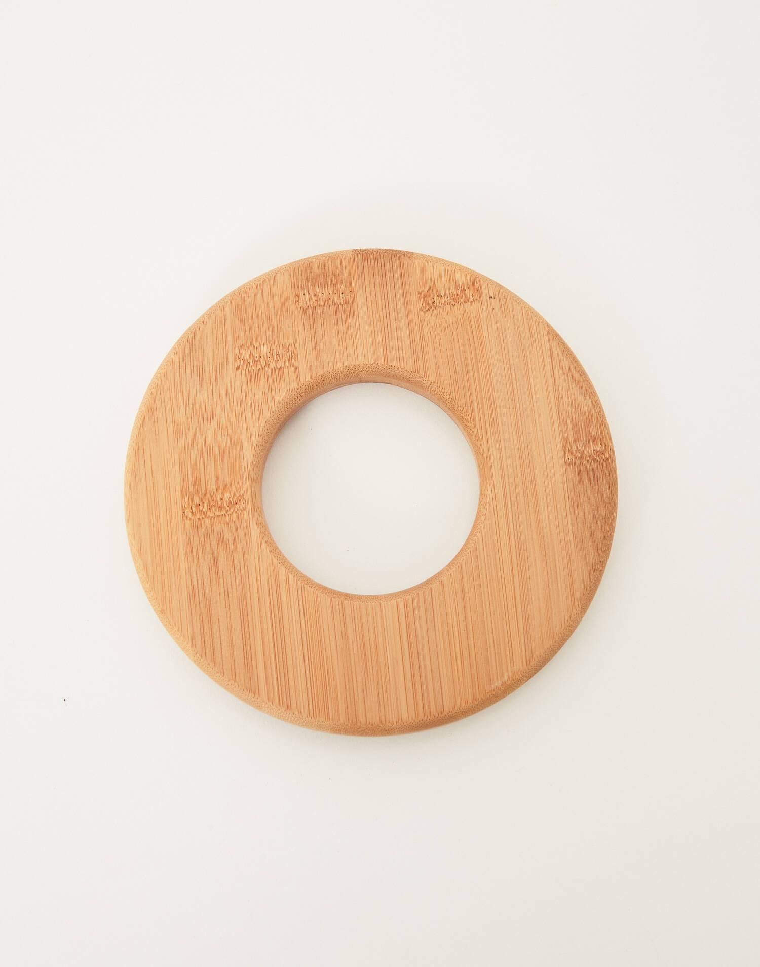 Untersetzer-ring aus bambus