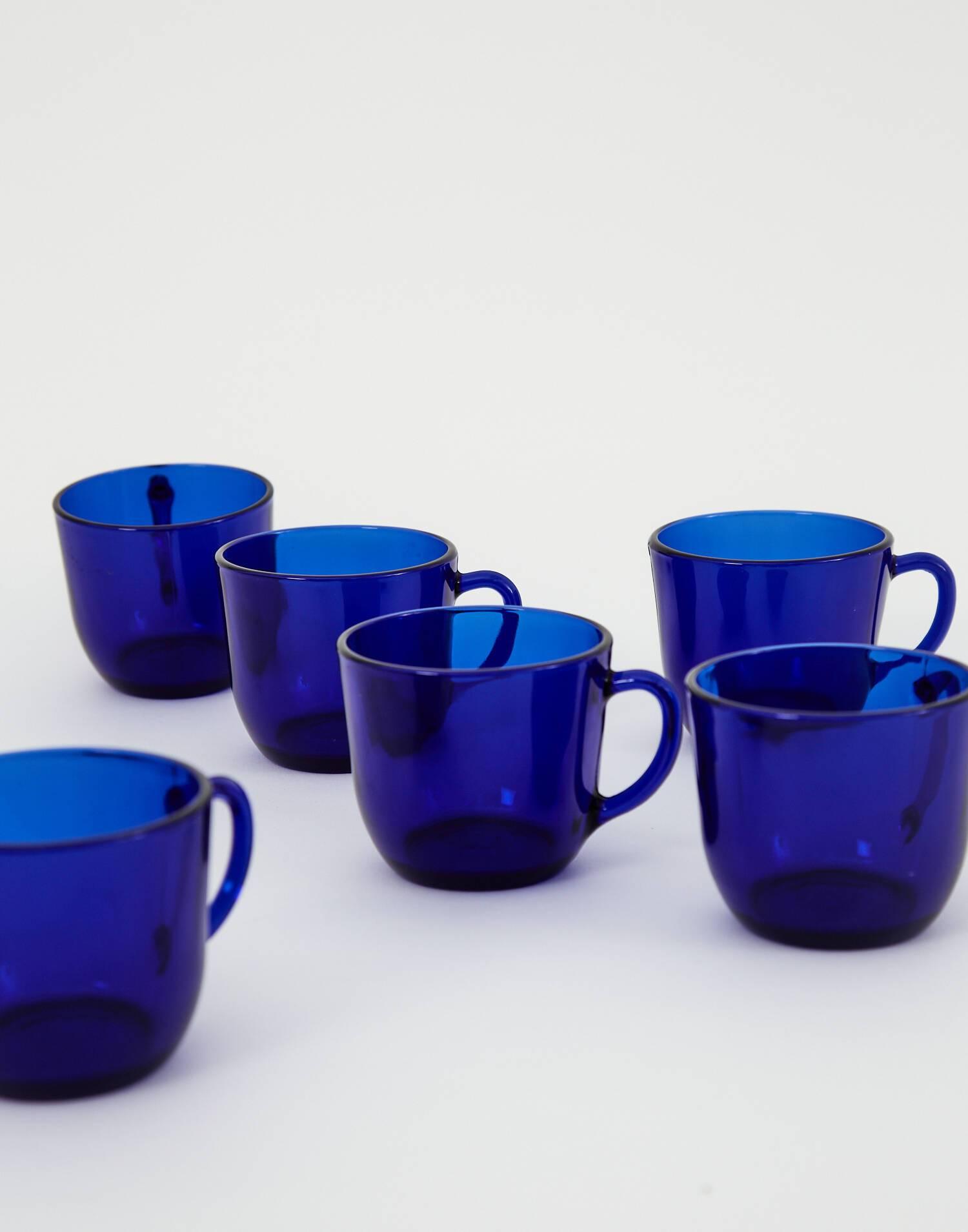 Set de 6 tazas 22 cl saphir