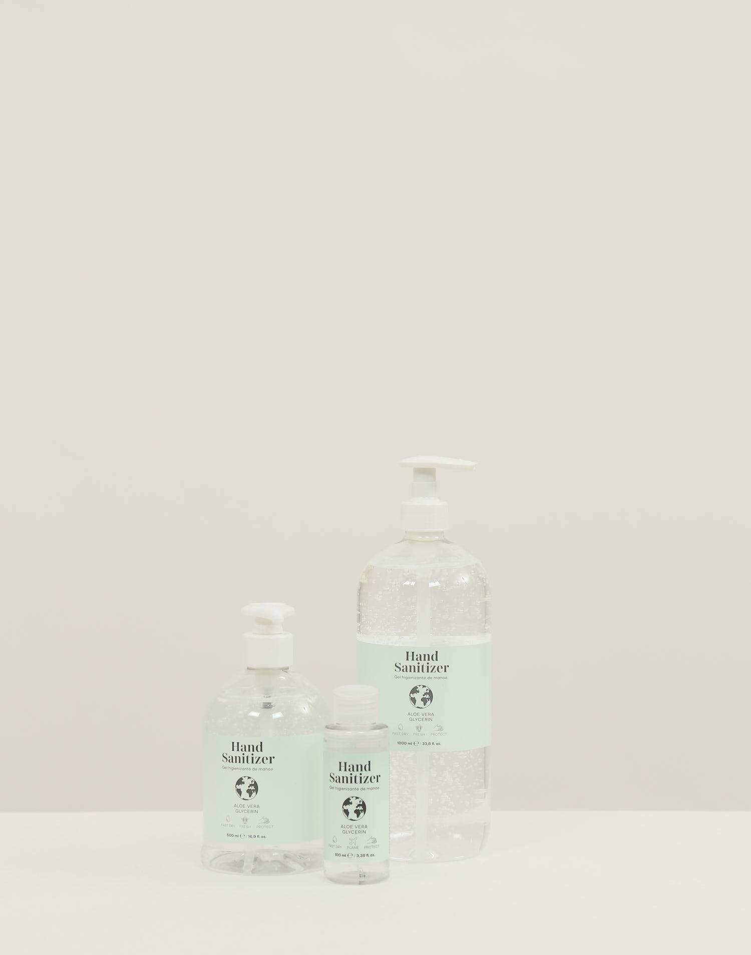 Gel hydroalcoolique natura 100 ml