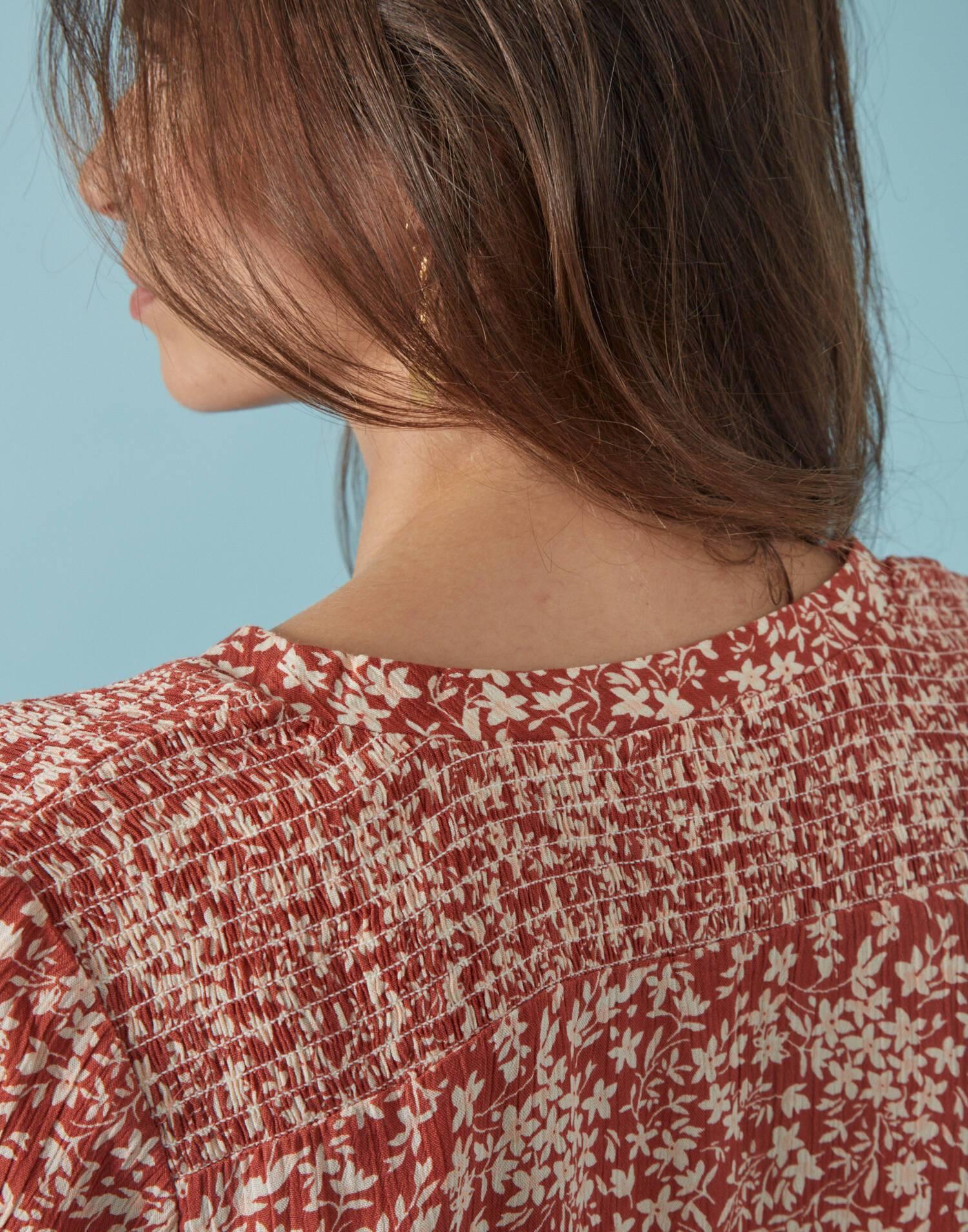 Camisa flor mini