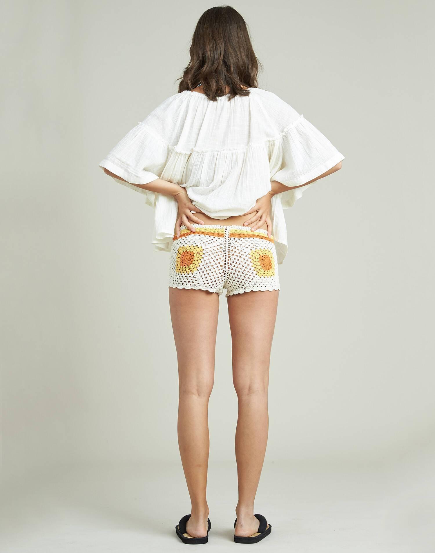 Shorts crochet