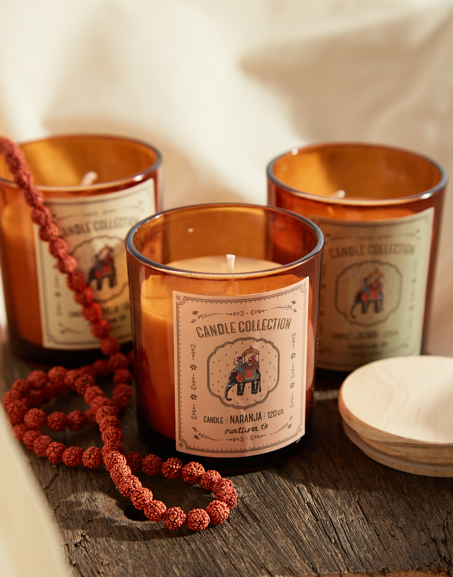 Soy wax candle 120gr