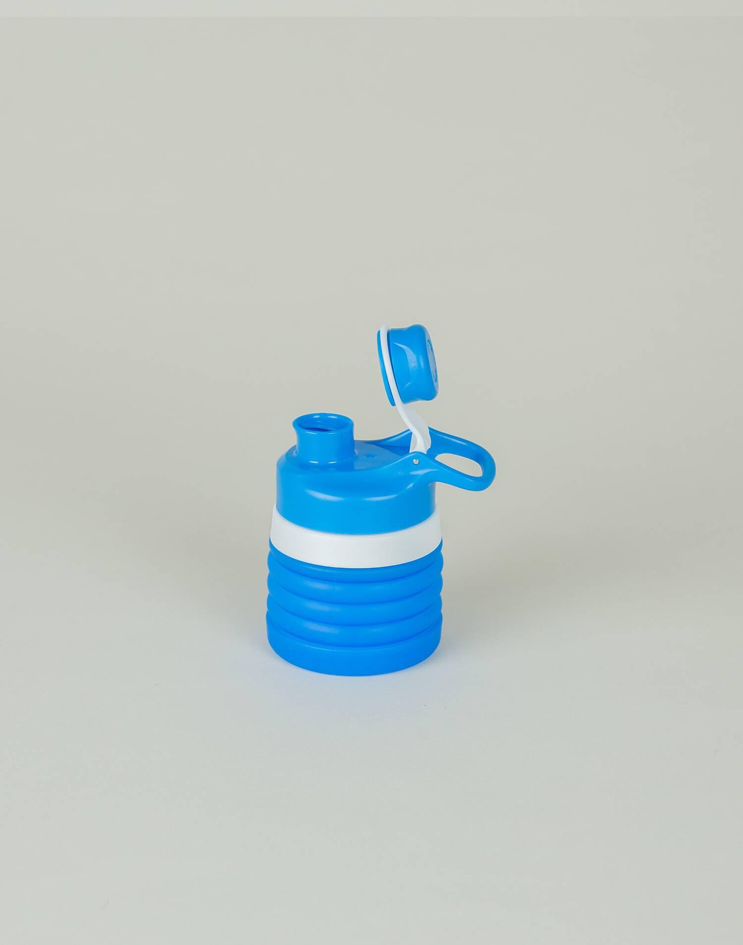 Botella silicona plegable niño