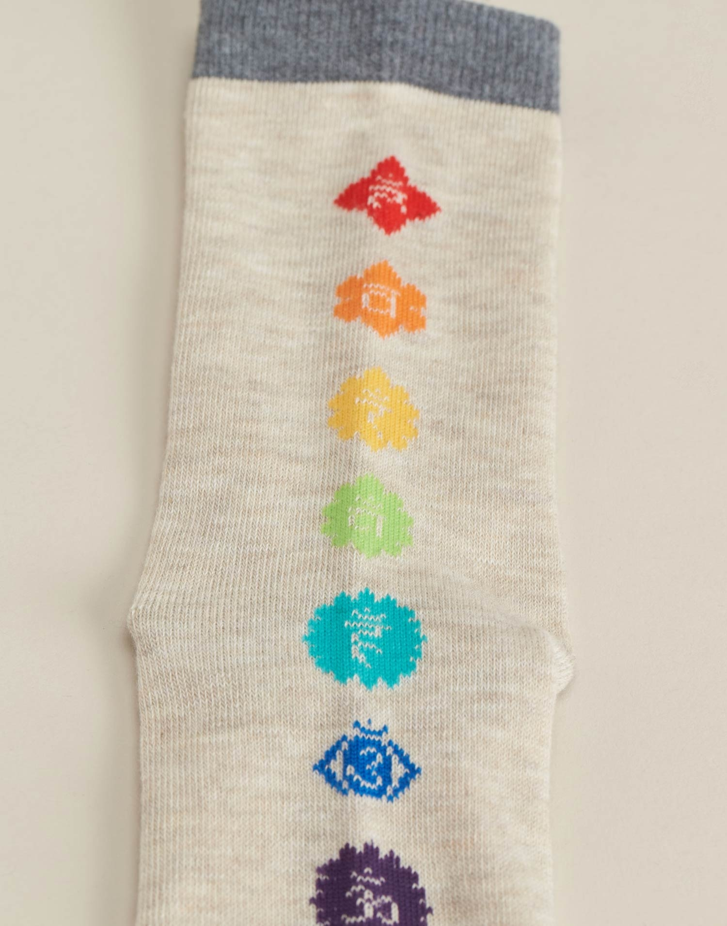 Set 2 socks chakras & peace