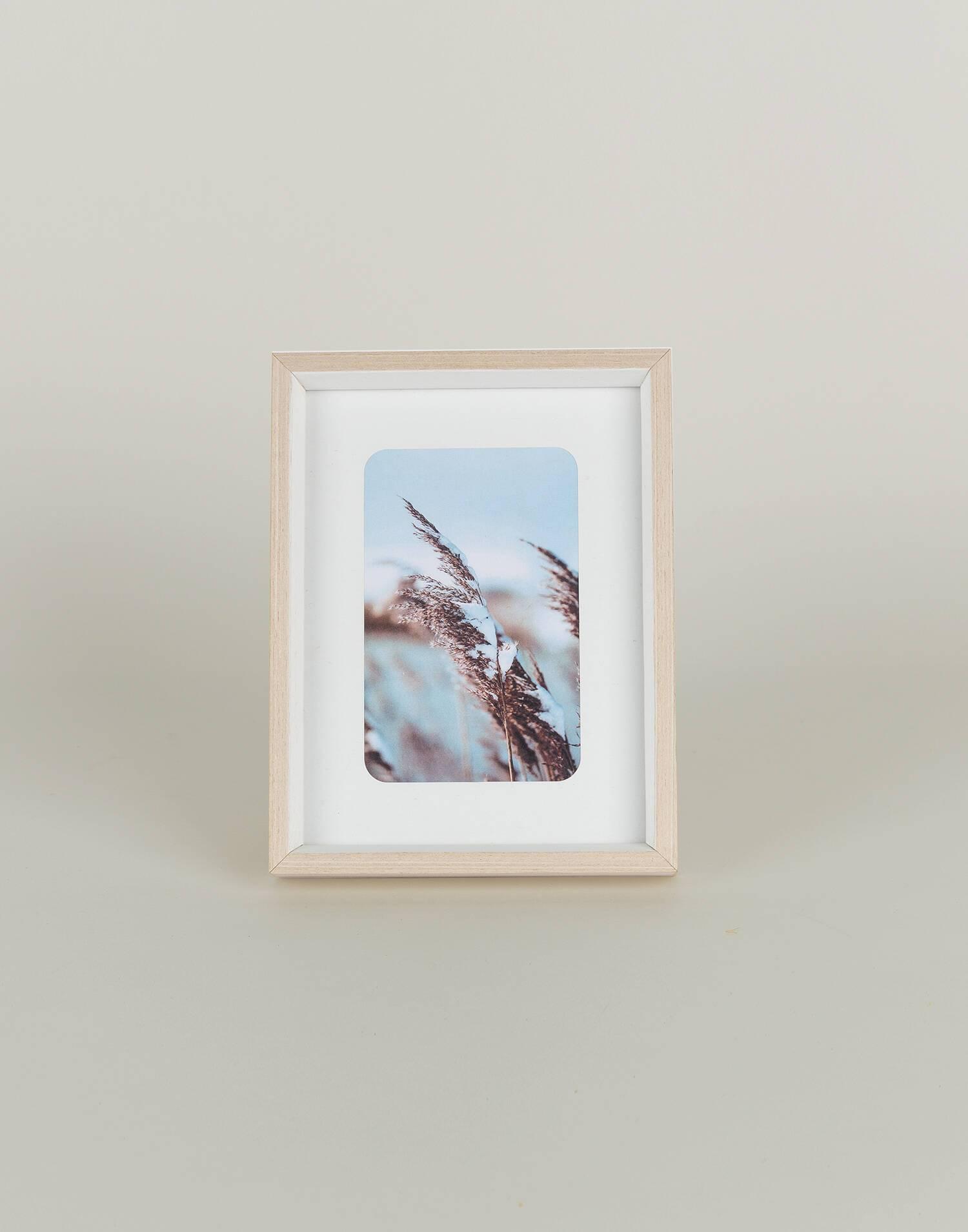Basic wood frame