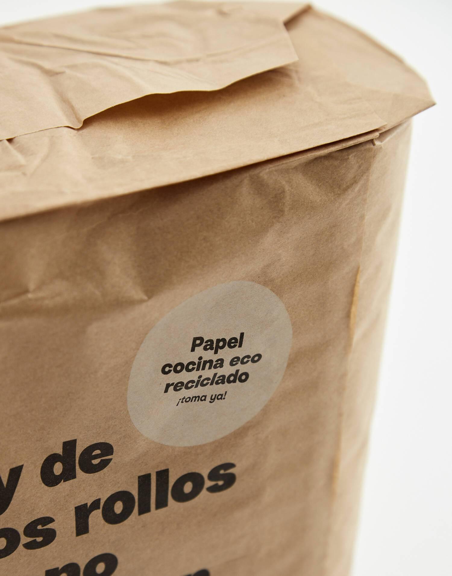 Papel cocina eco-reciclado 2 rollos
