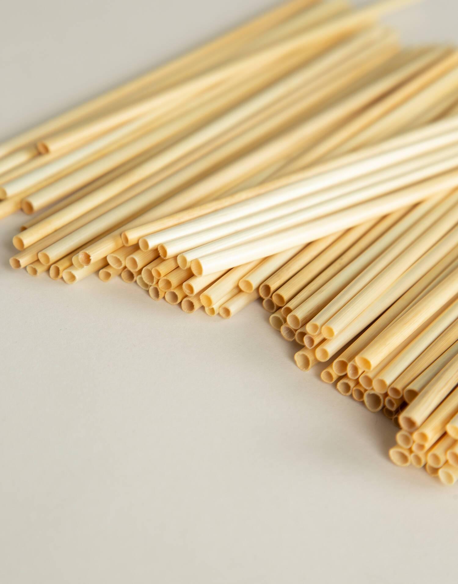 100 wheat straws box
