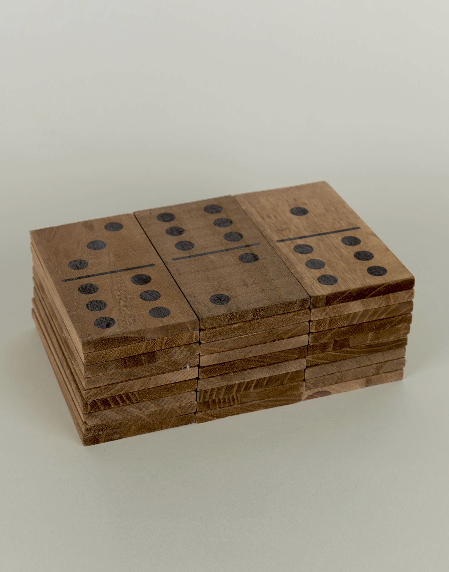 Big size wooden dominoes