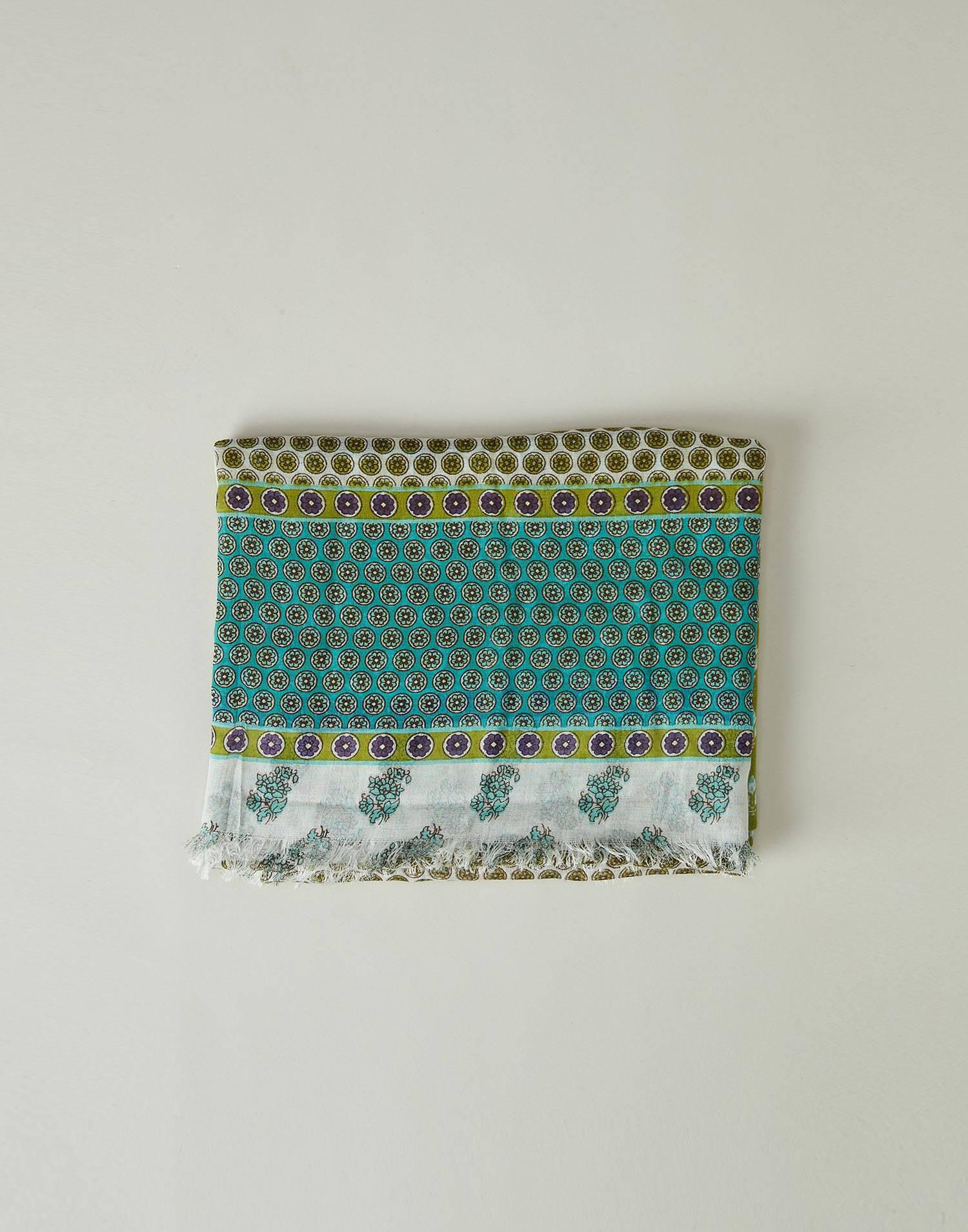 Stamps printed foulard