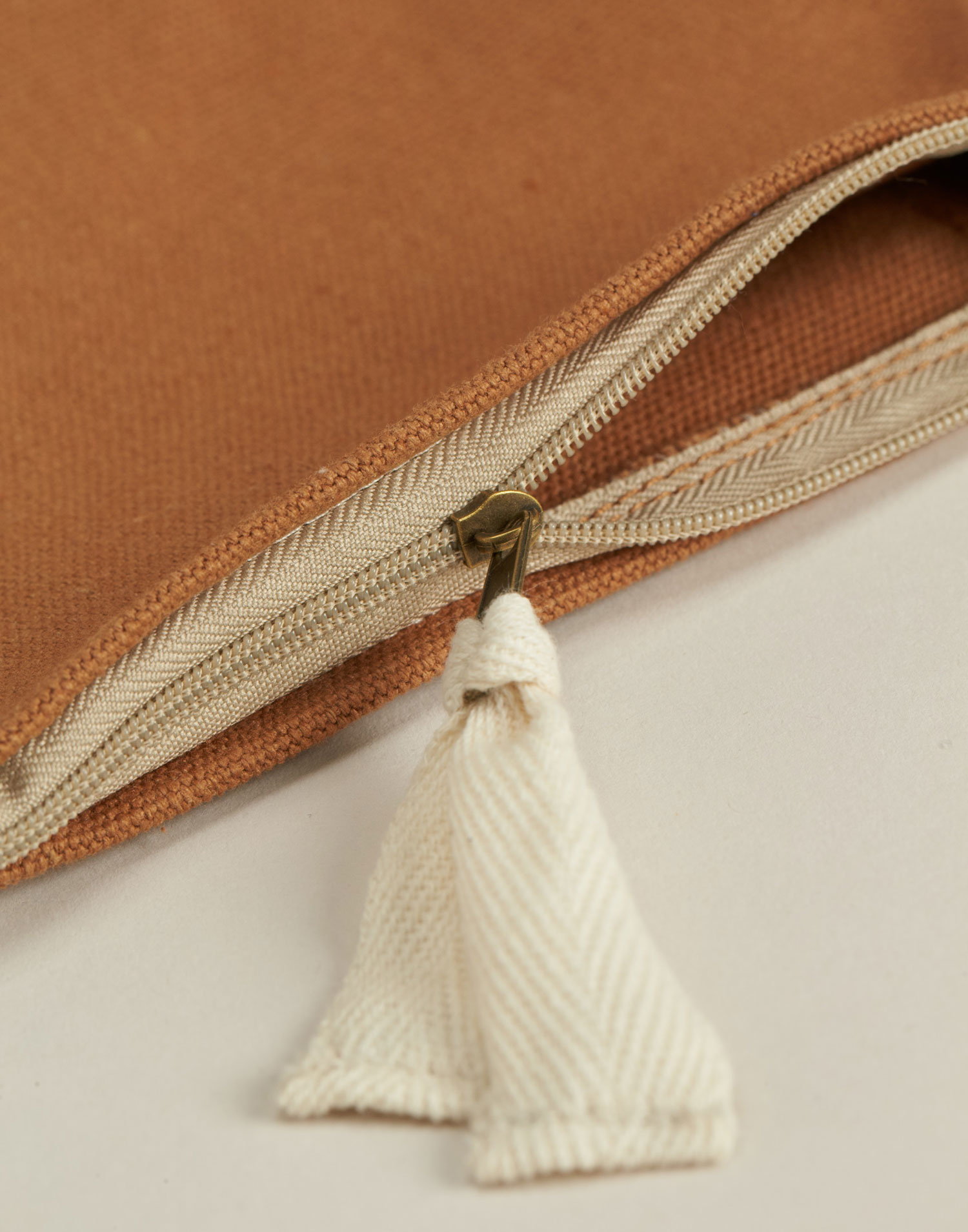 Canvas pocket pouch