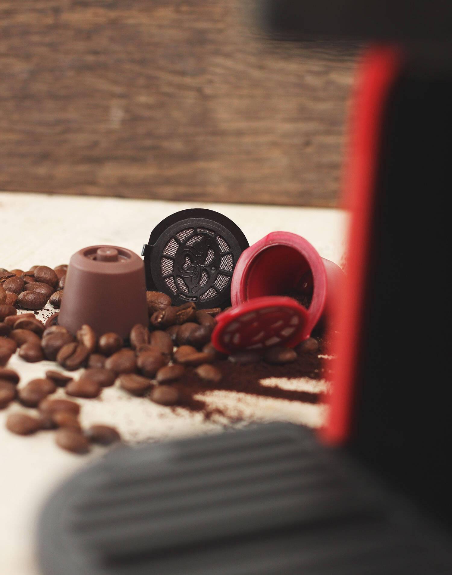 3 cápsulas café reutilizables