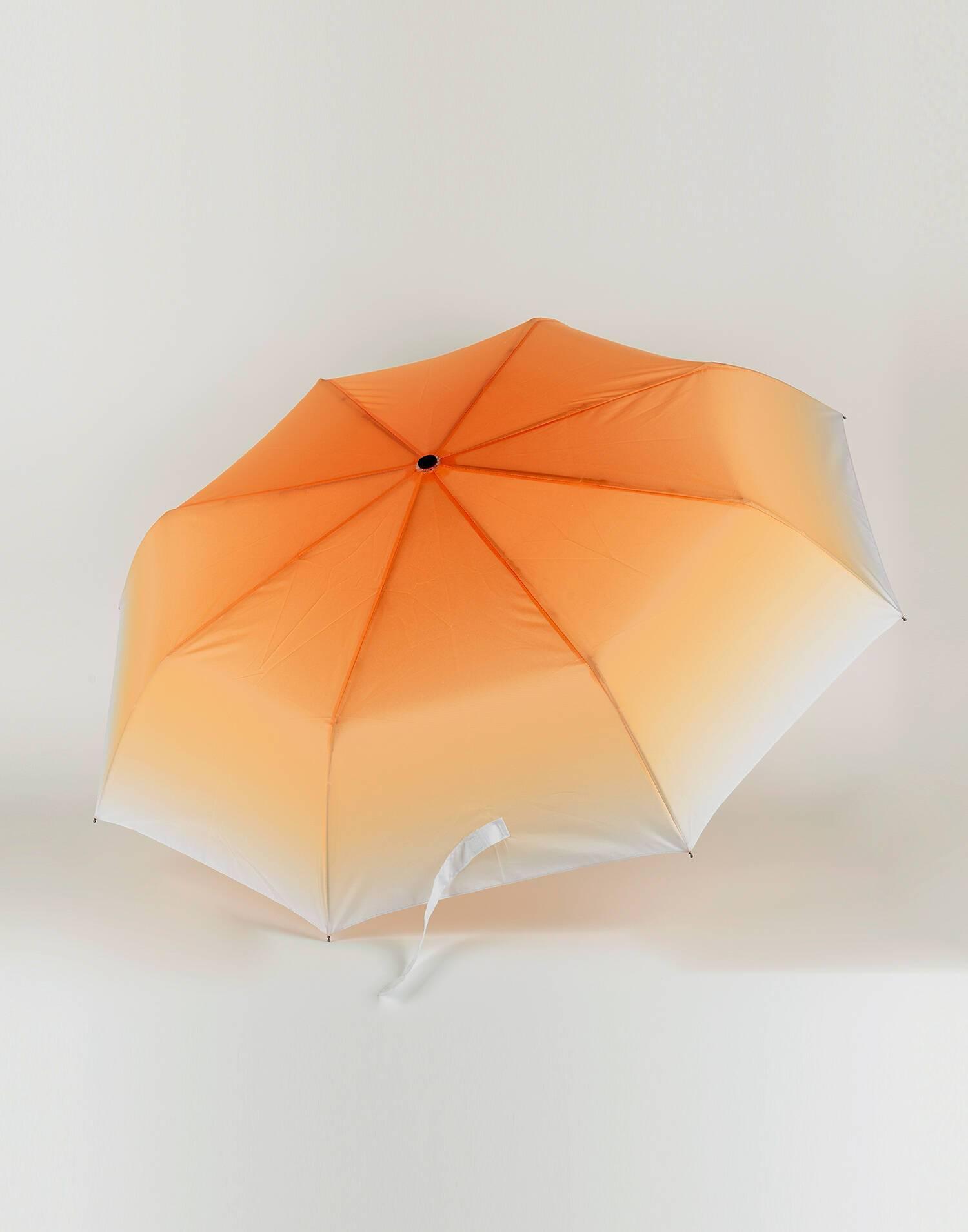 Tie dye folding umbrella