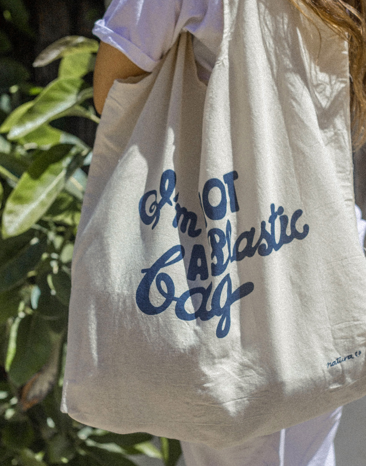 I'm not a plastic bag tote