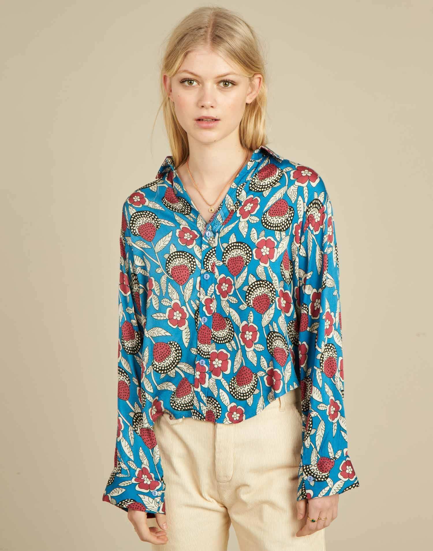 Camisa flor