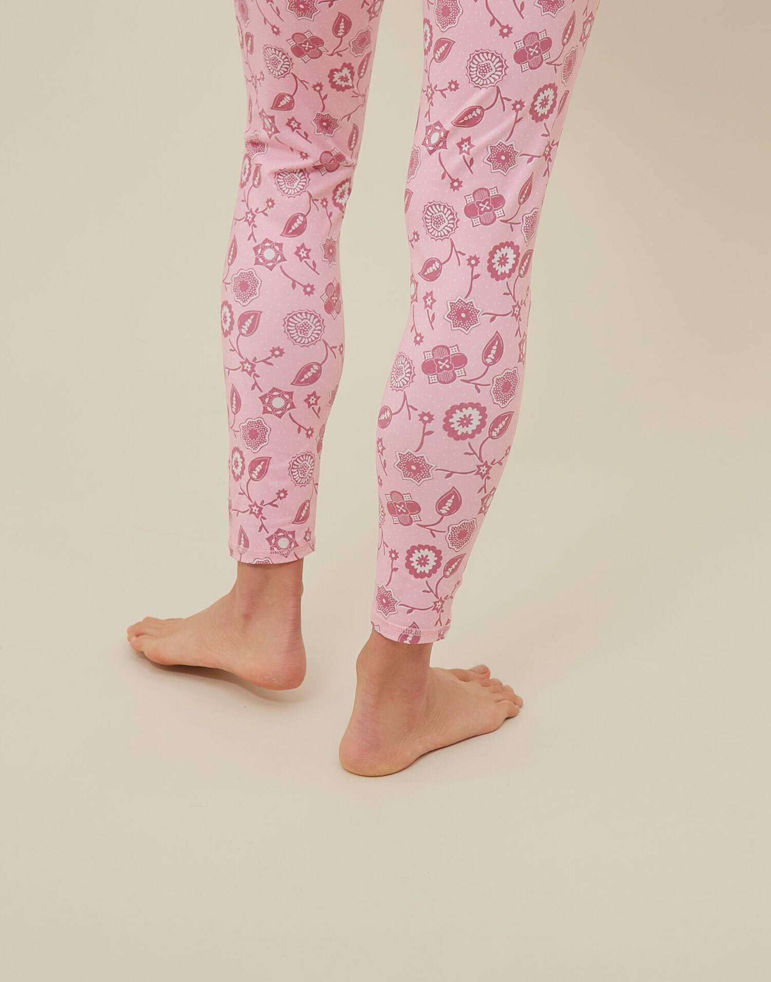Pink yoga legging by natura