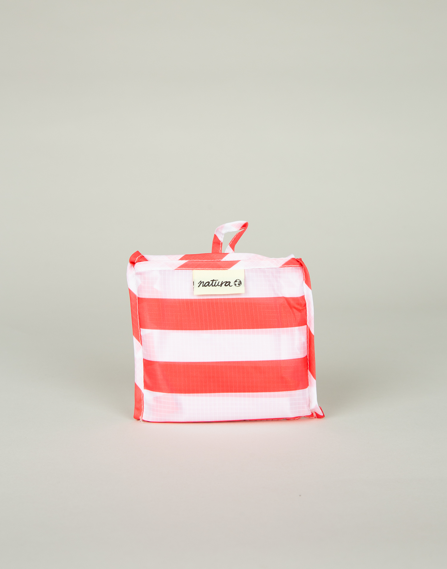Stripes folding bag