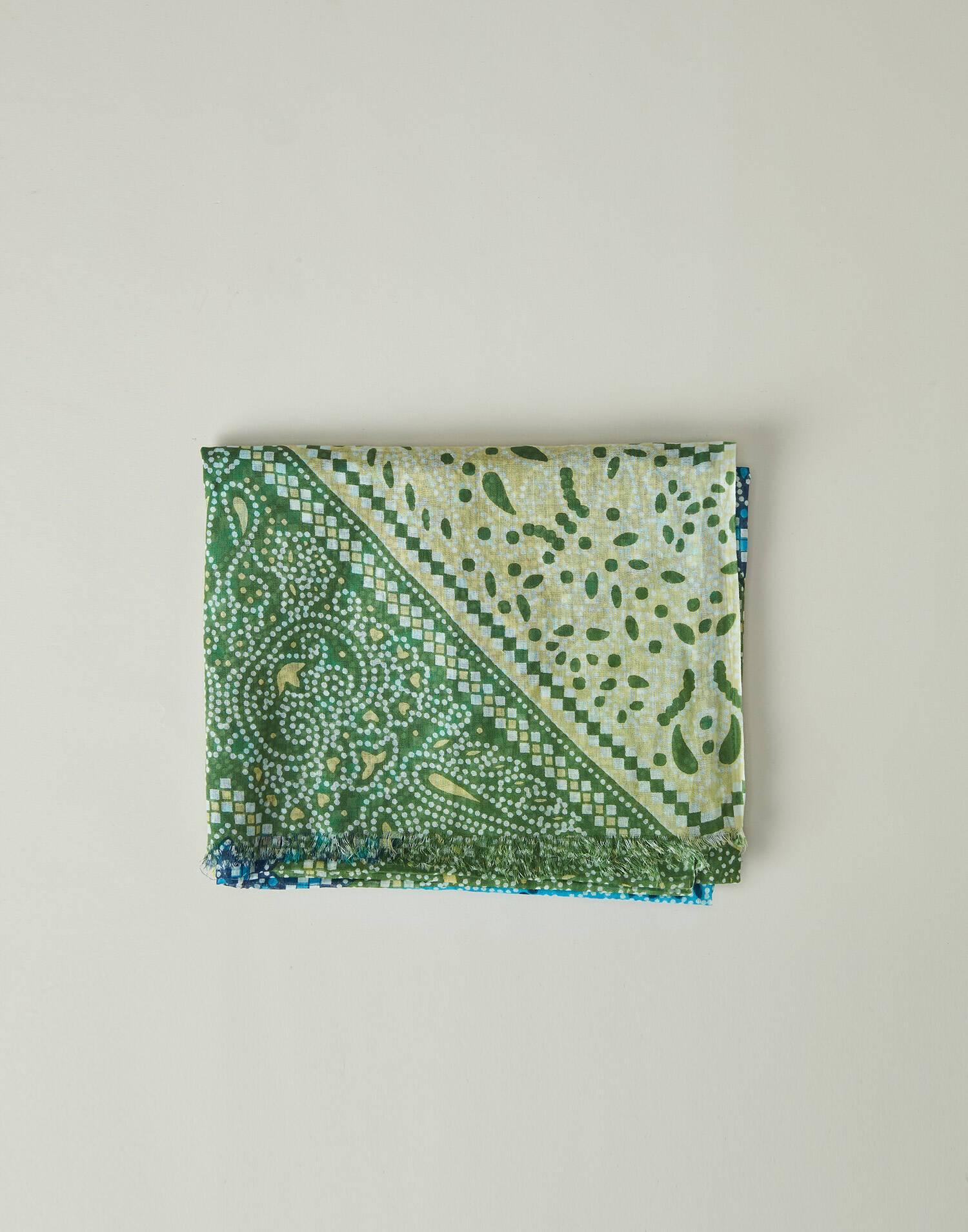 Bandhani printed foulard