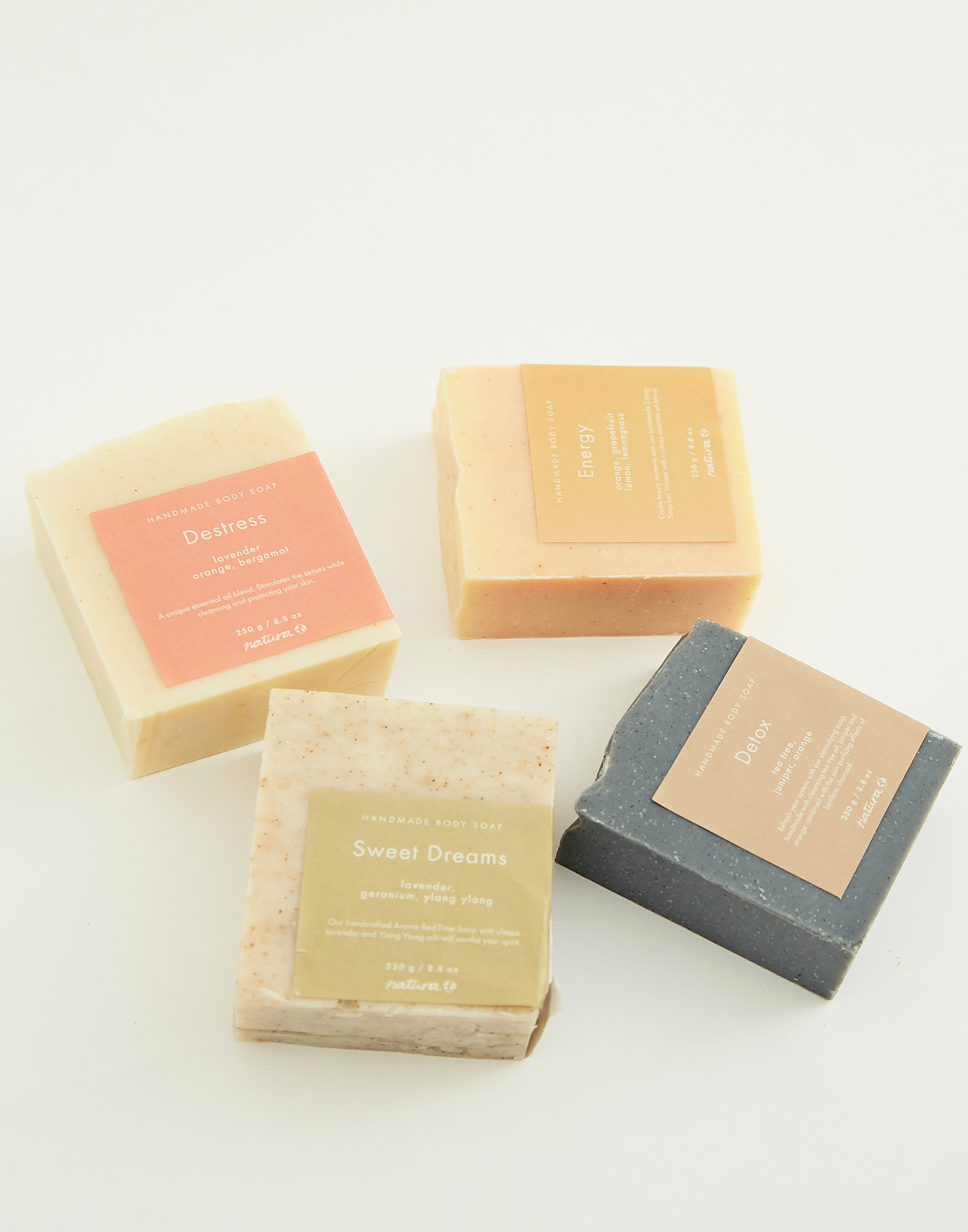 Aromatherapy bar soap 250gr