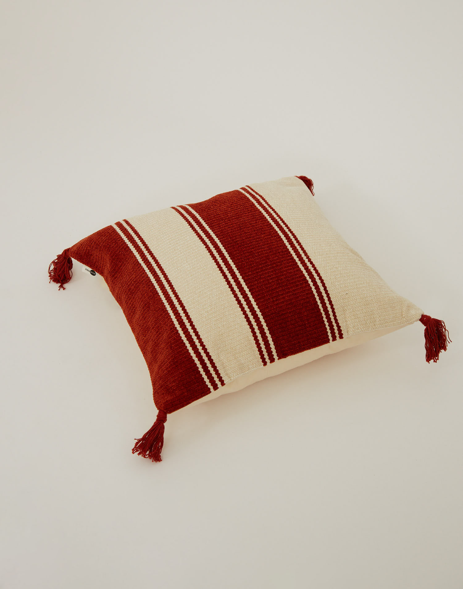 Housse coussin rayures 50 x 50 cm