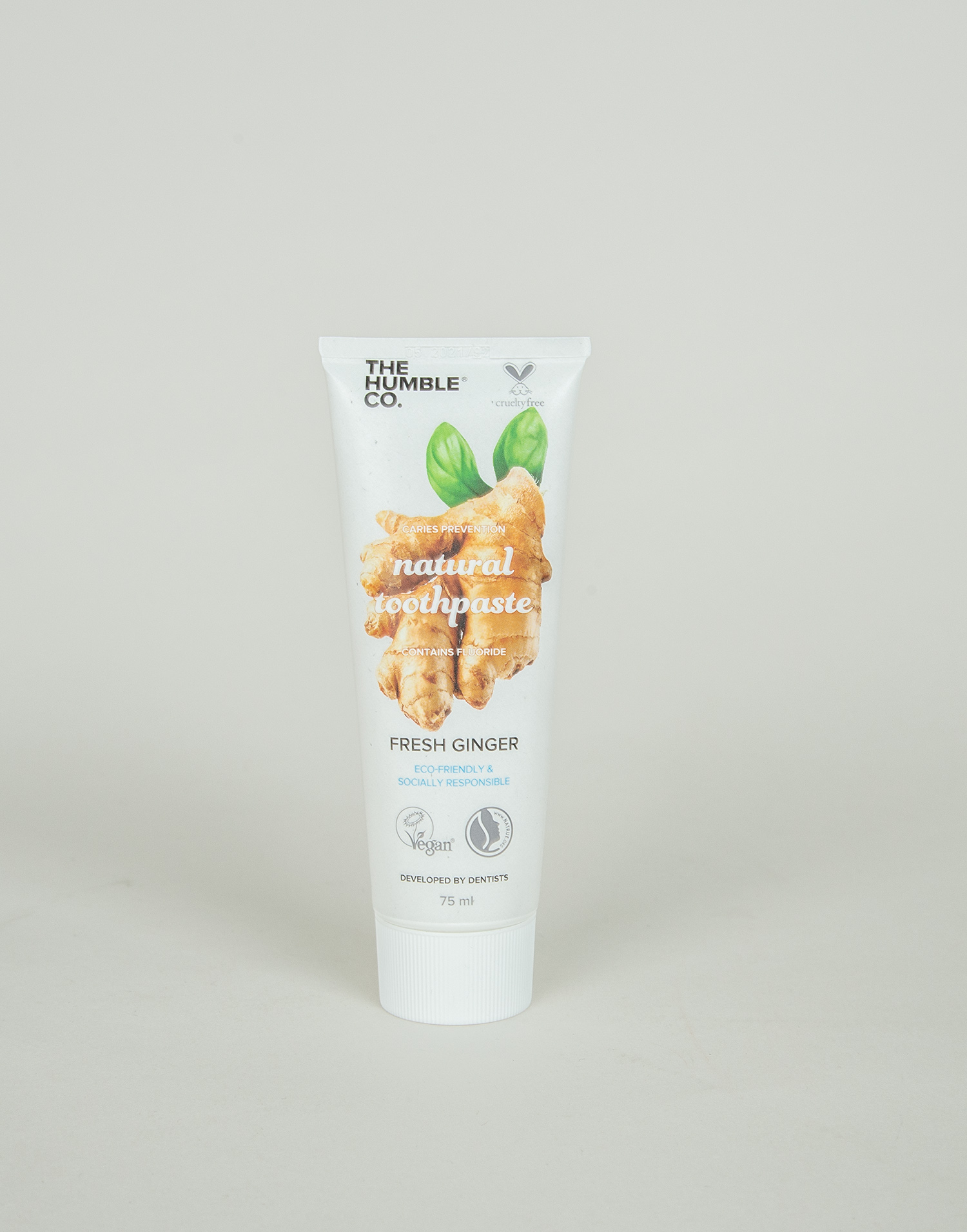 Dentifricio naturale ginger