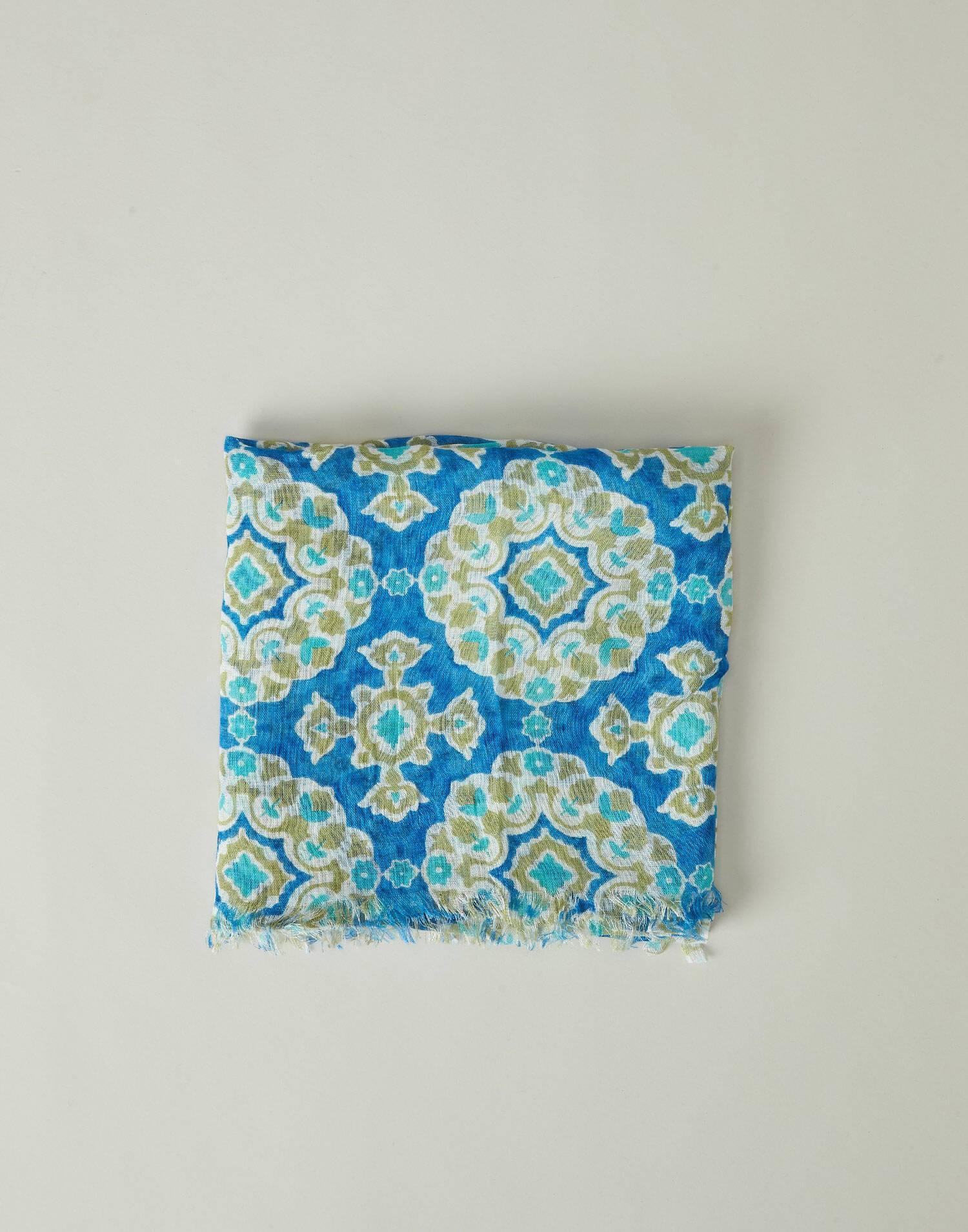 Petunia printed foulard