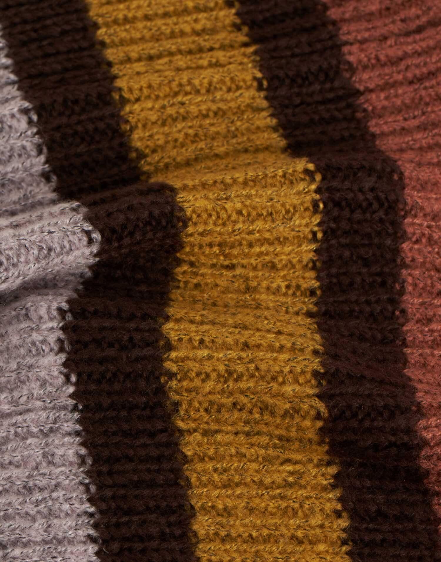 Cuello rayas multicolor