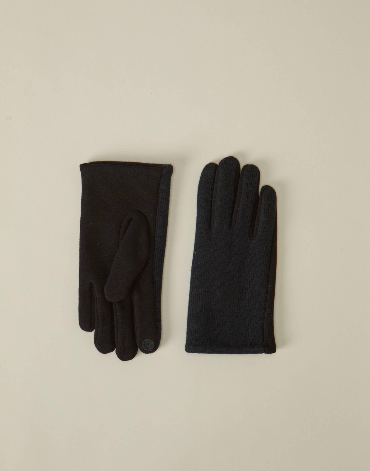 Guante hombre touch combinado lana