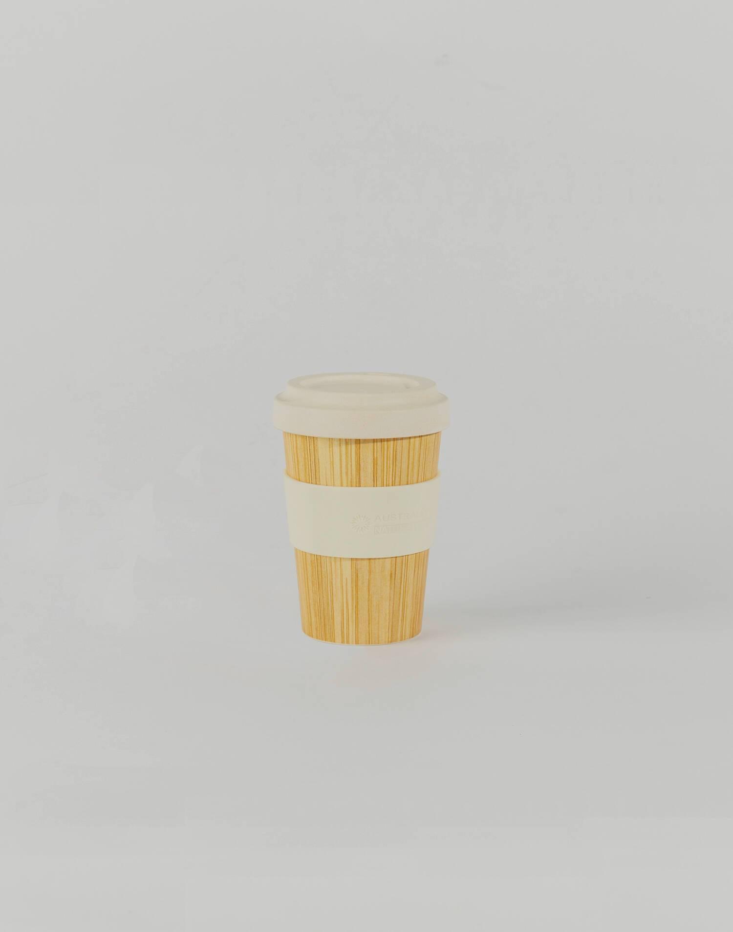 Vaso bamboo con tapa