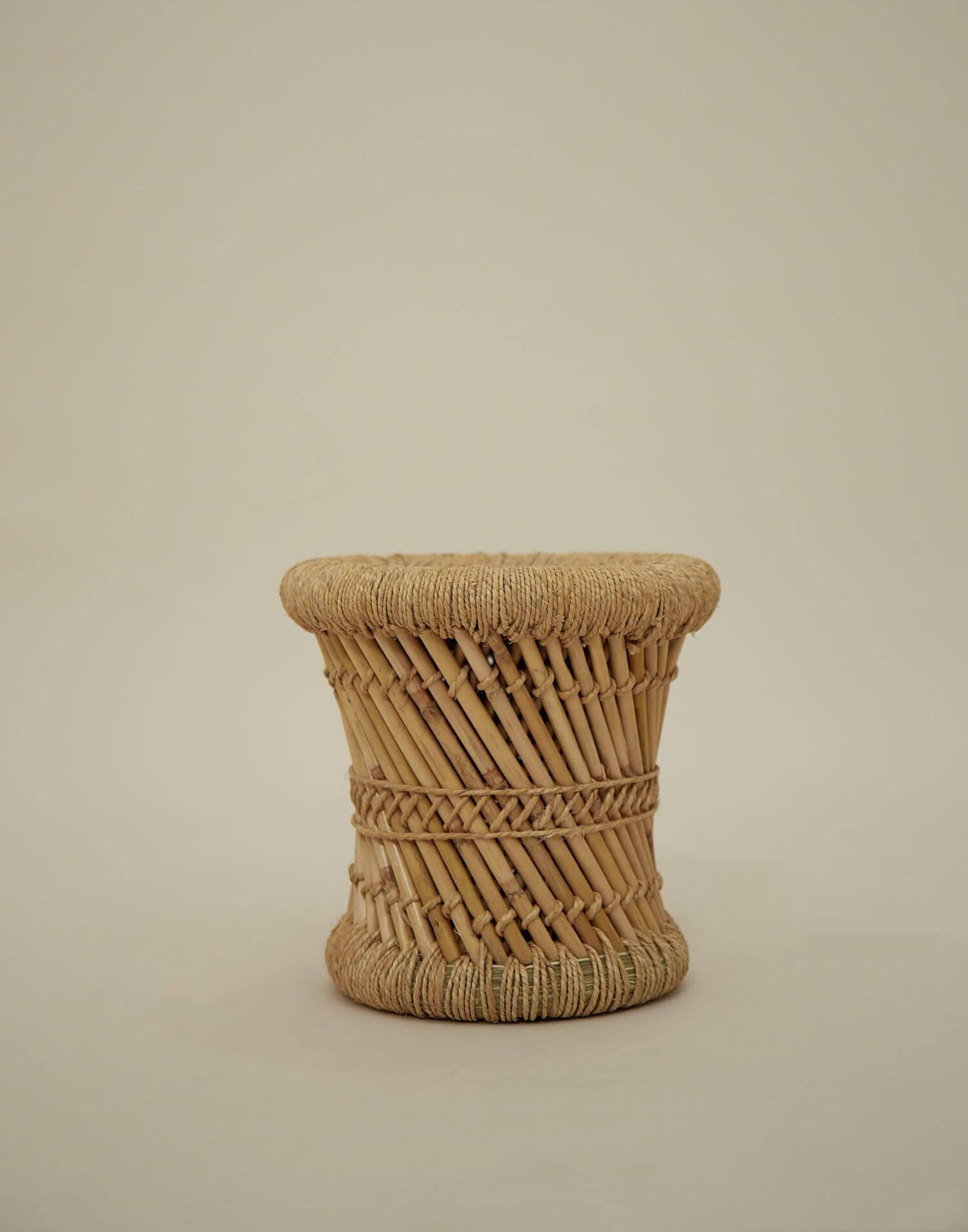 Taburete bambú niño