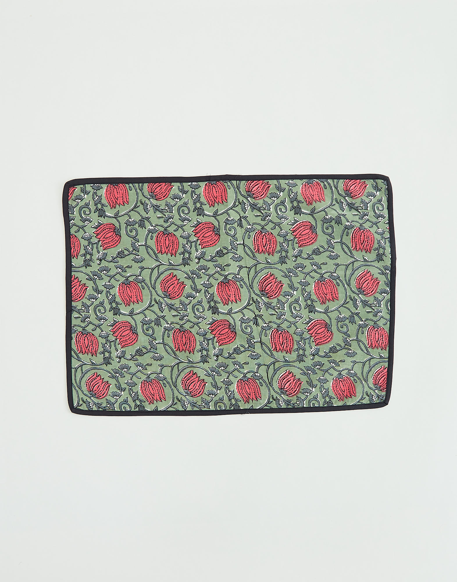 Block print placemat 35x50