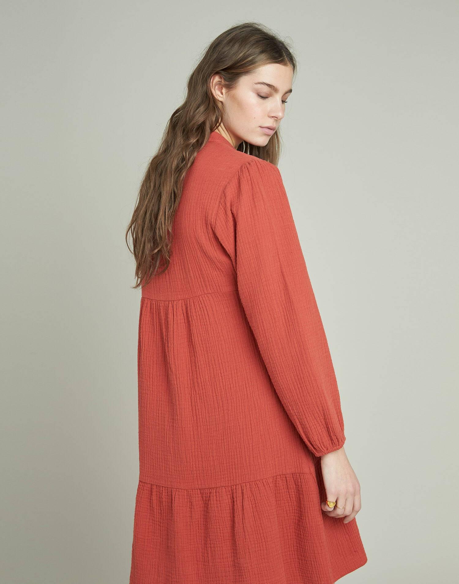 Cotton short dress